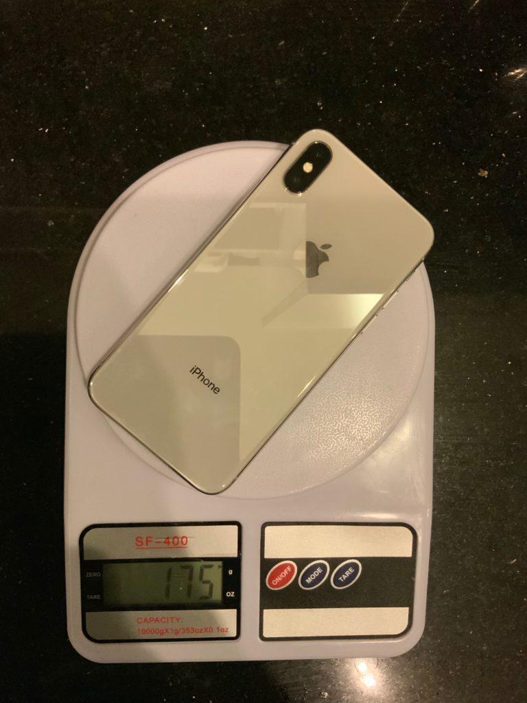 вес iPhone Х