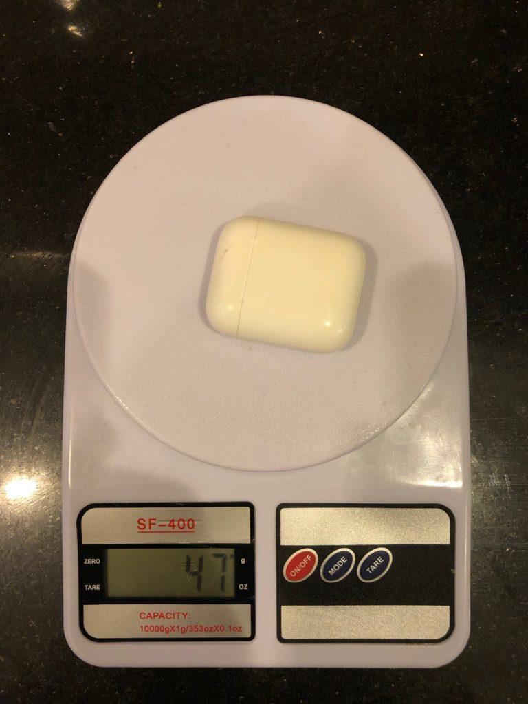 вес Air Pods