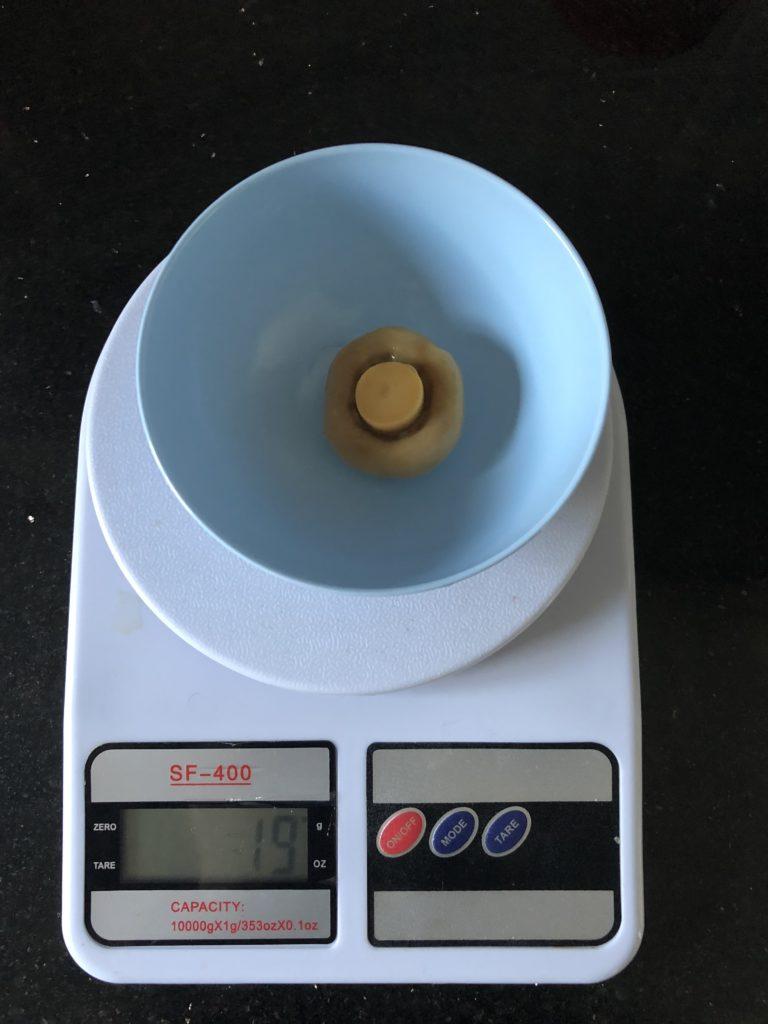 вес шампиньона