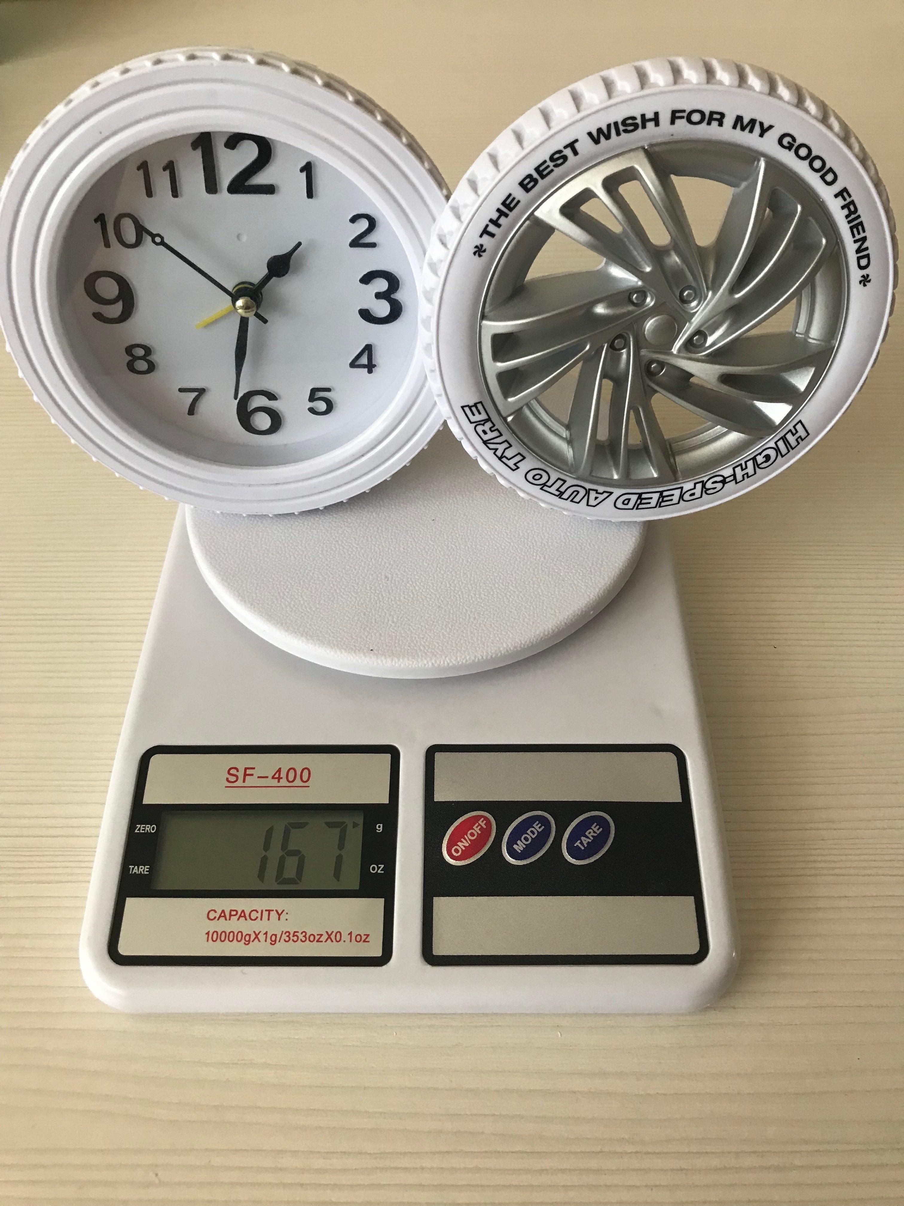 вес часов настольных