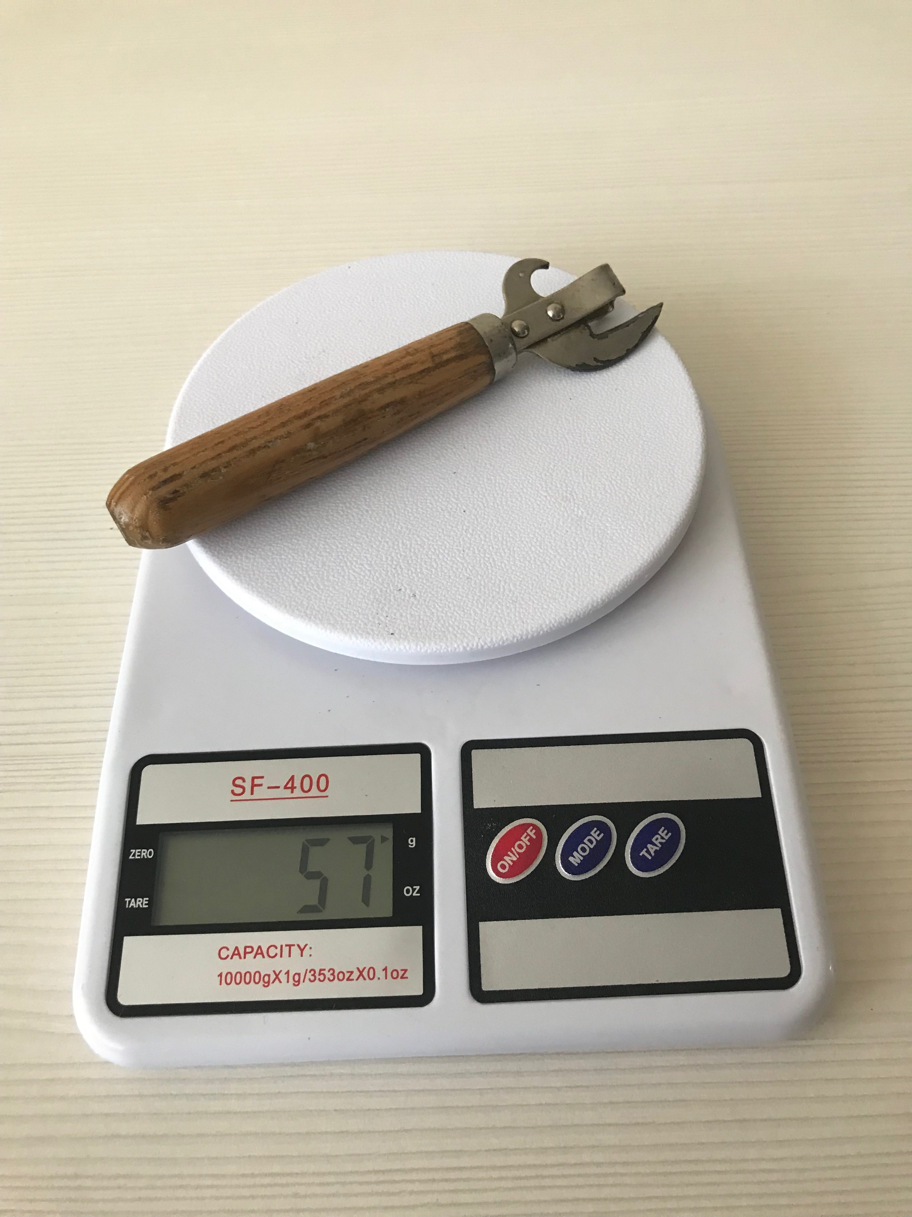 вес открывашки