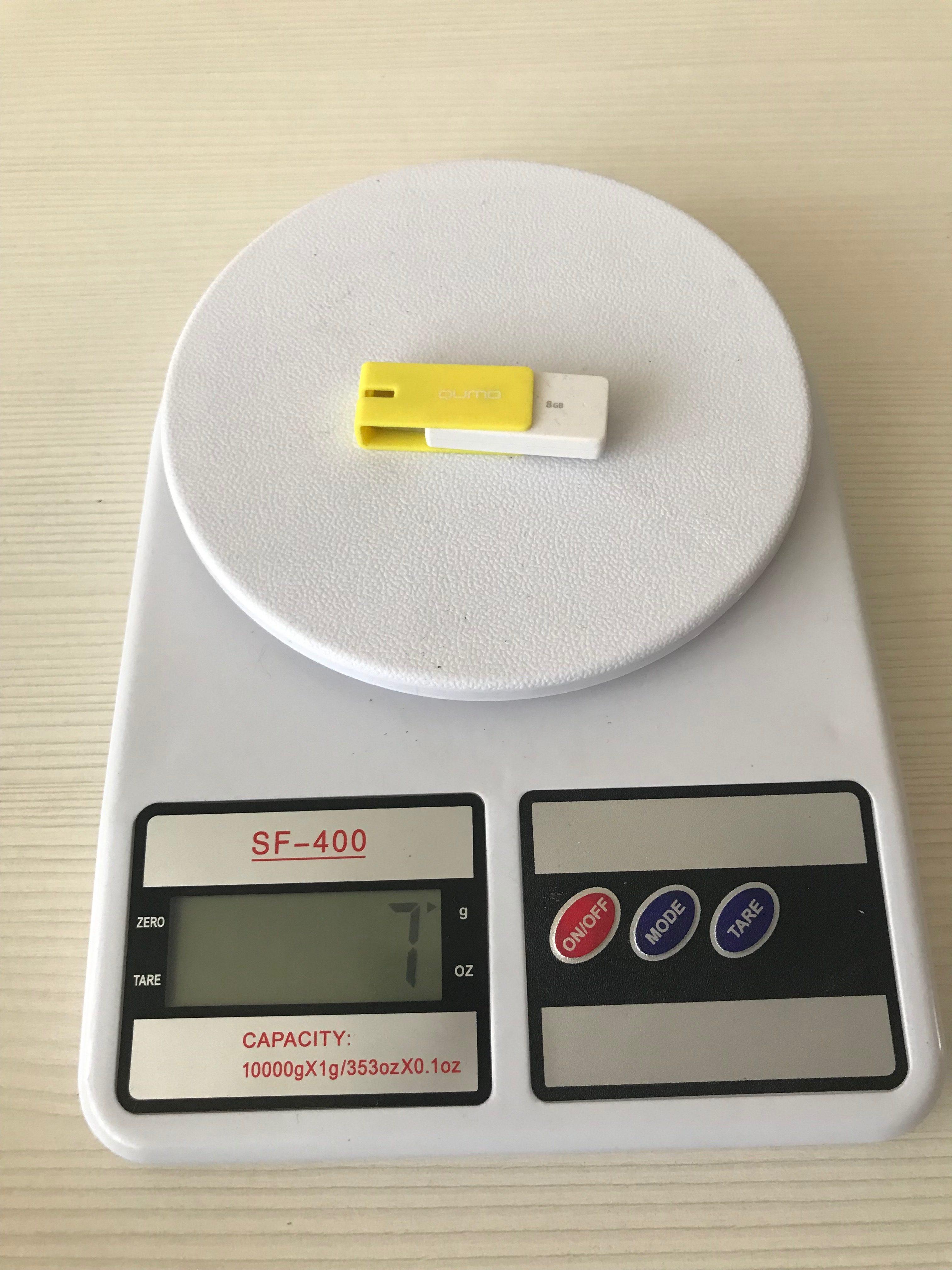 вес флешки