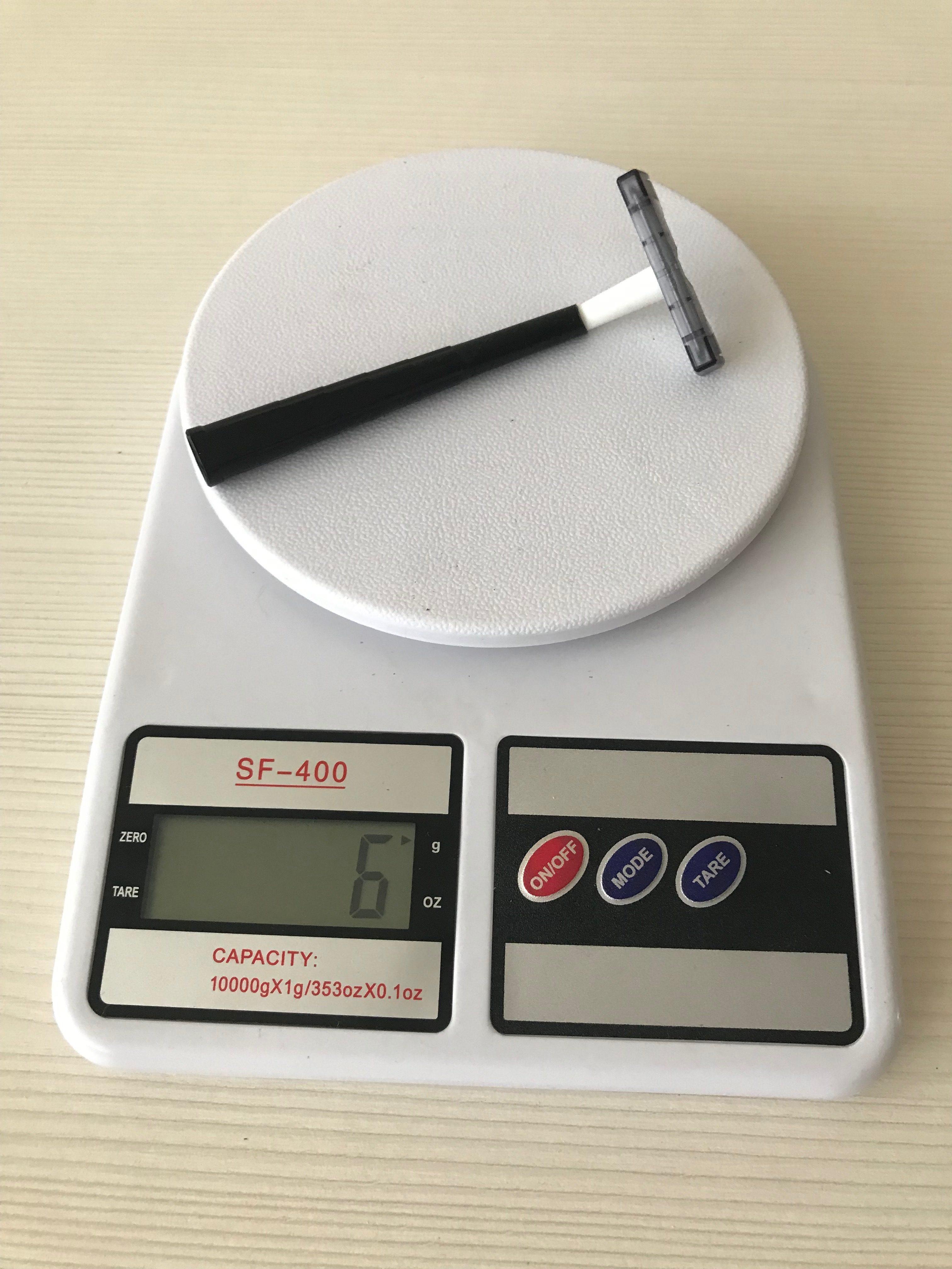 вес бритвы одноразовой