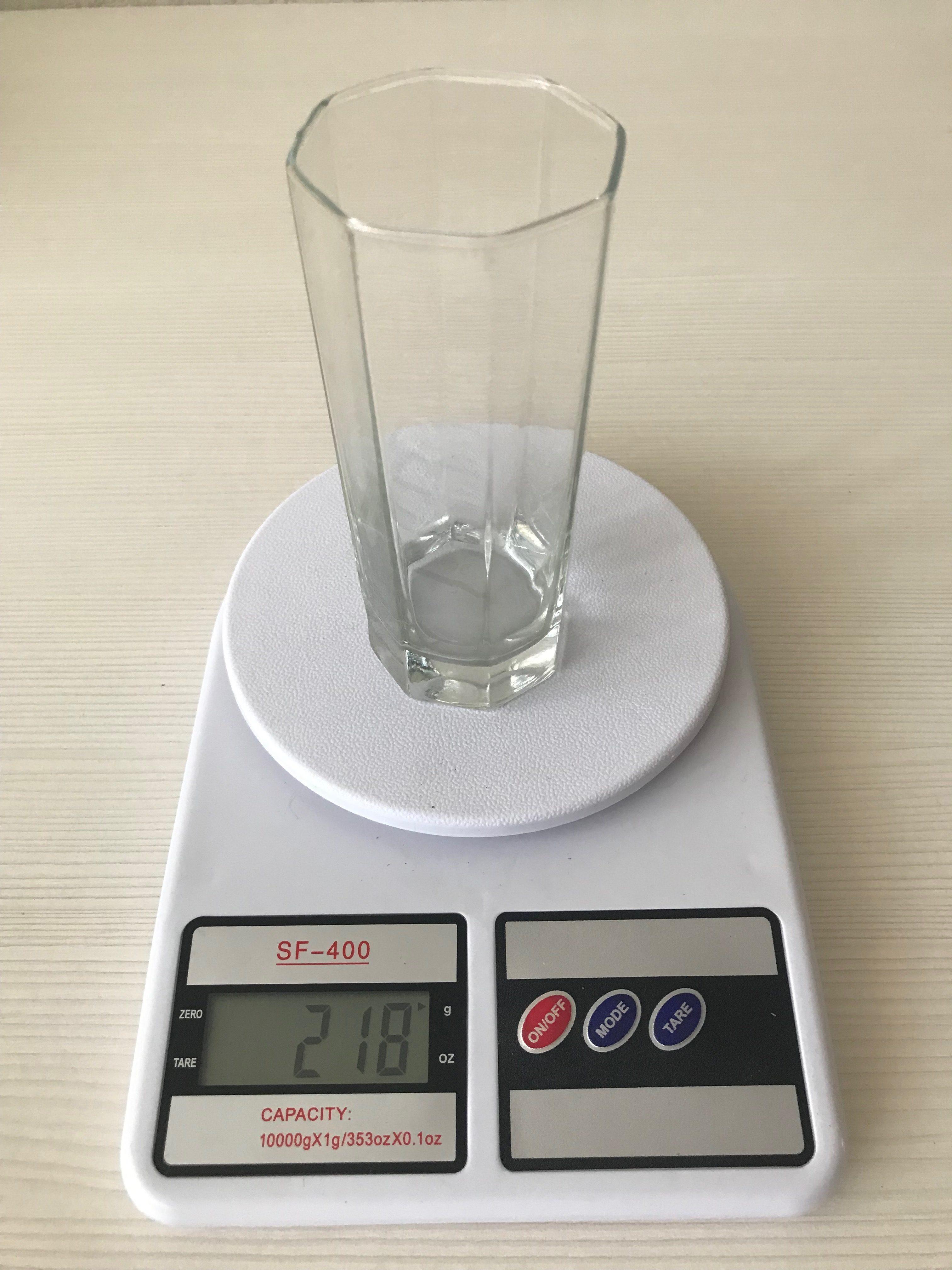 вес стакана