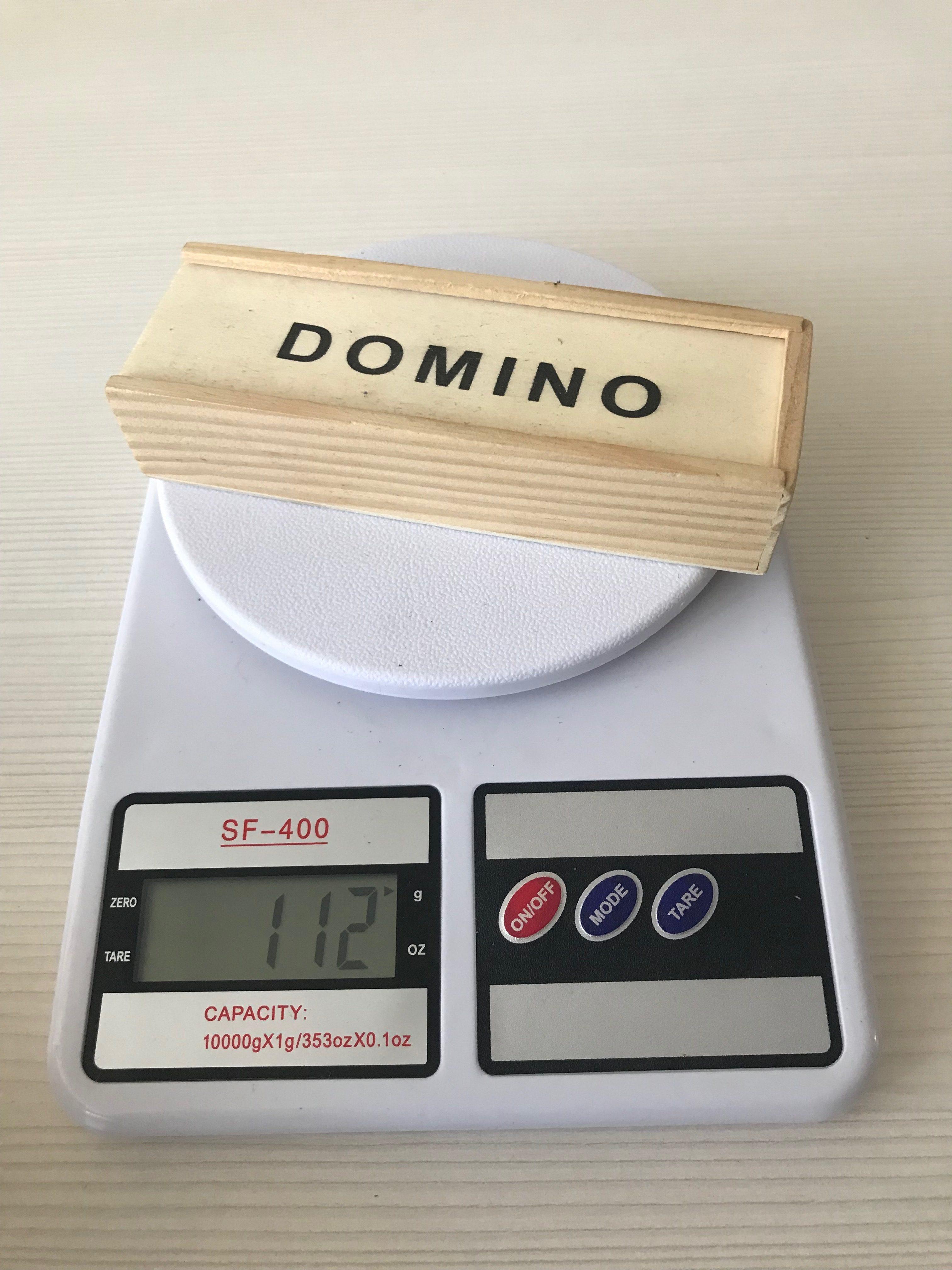 вес домино