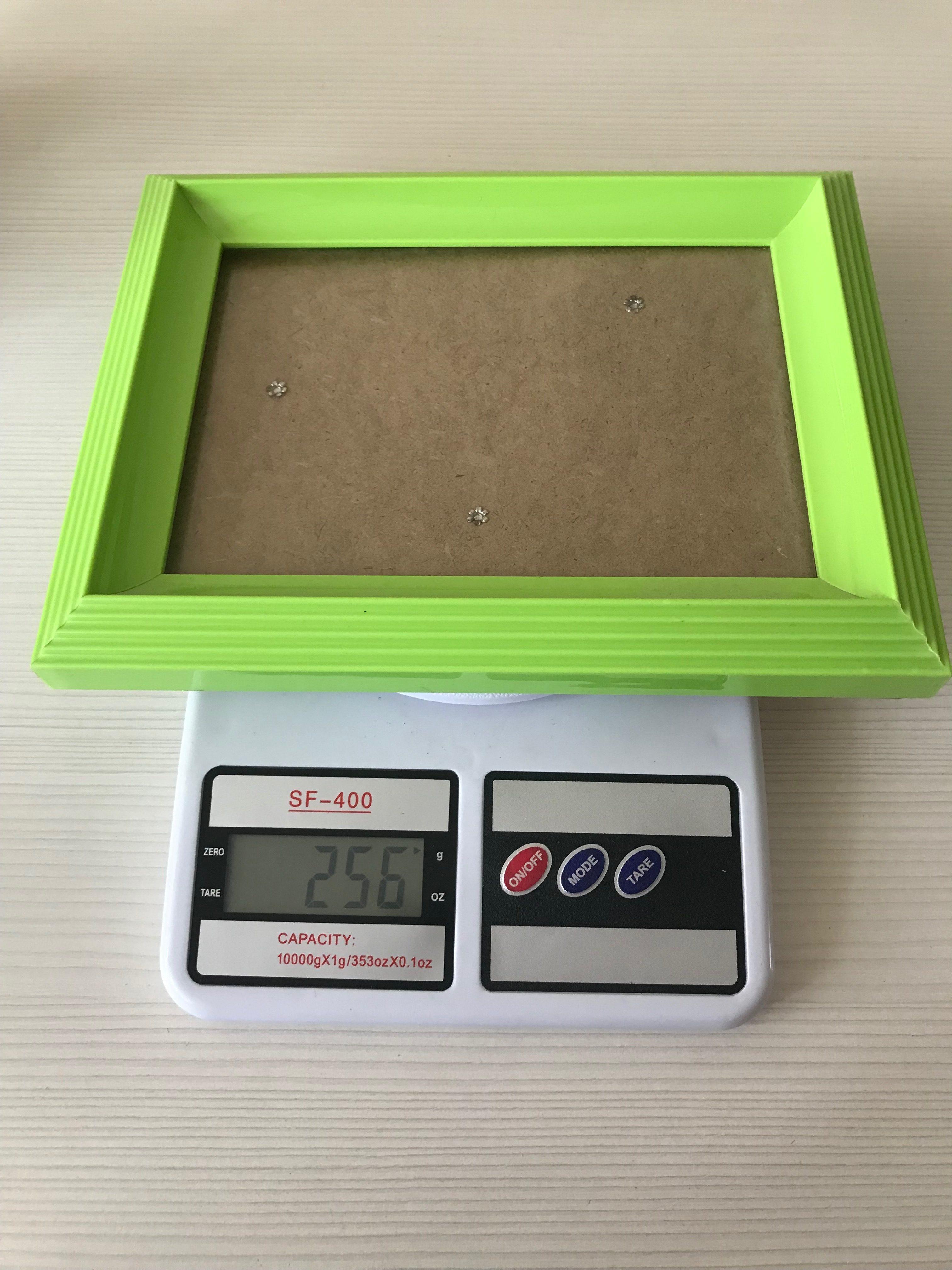 вес рамки для фото
