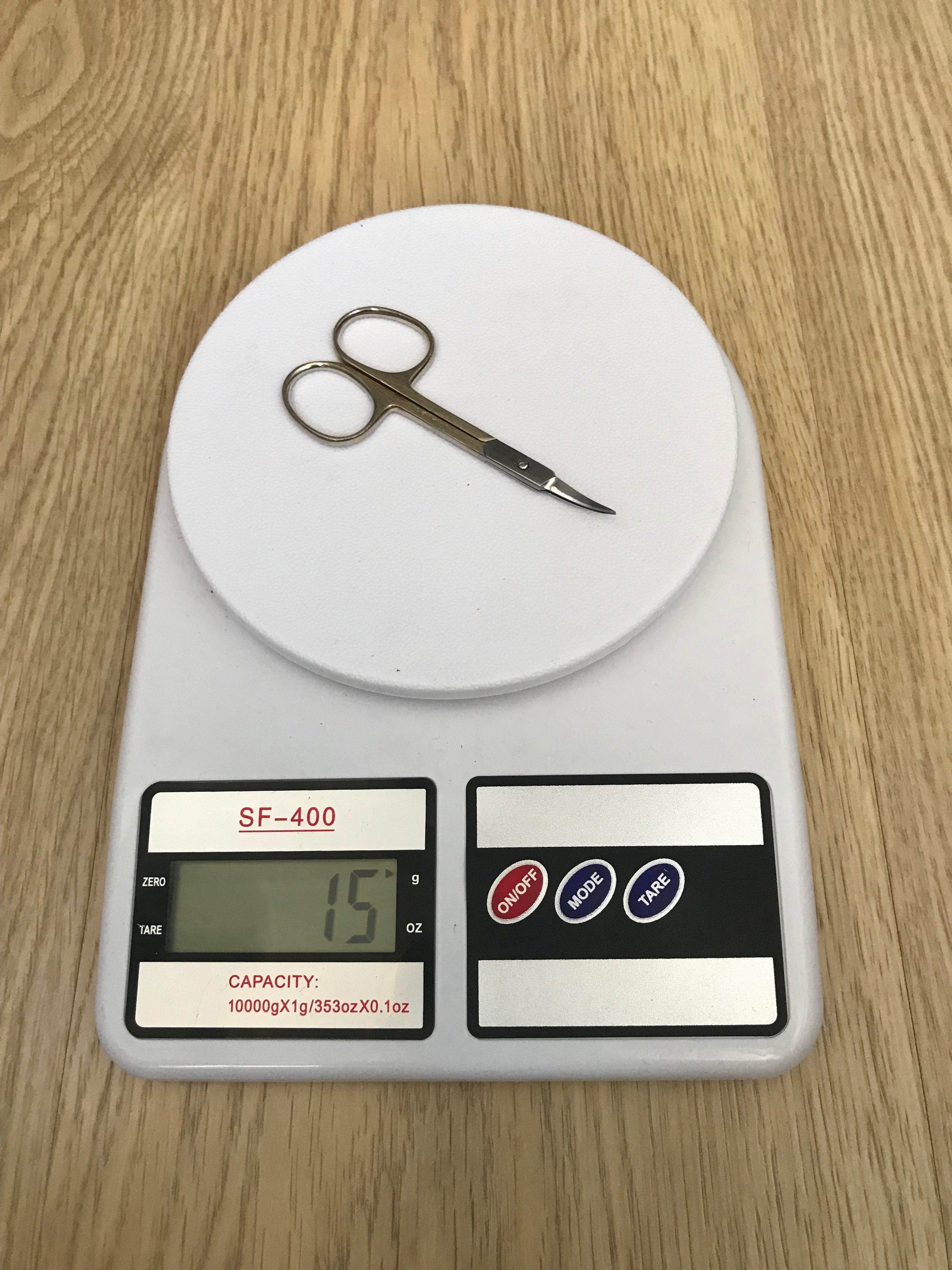 вес маникюрных ножниц