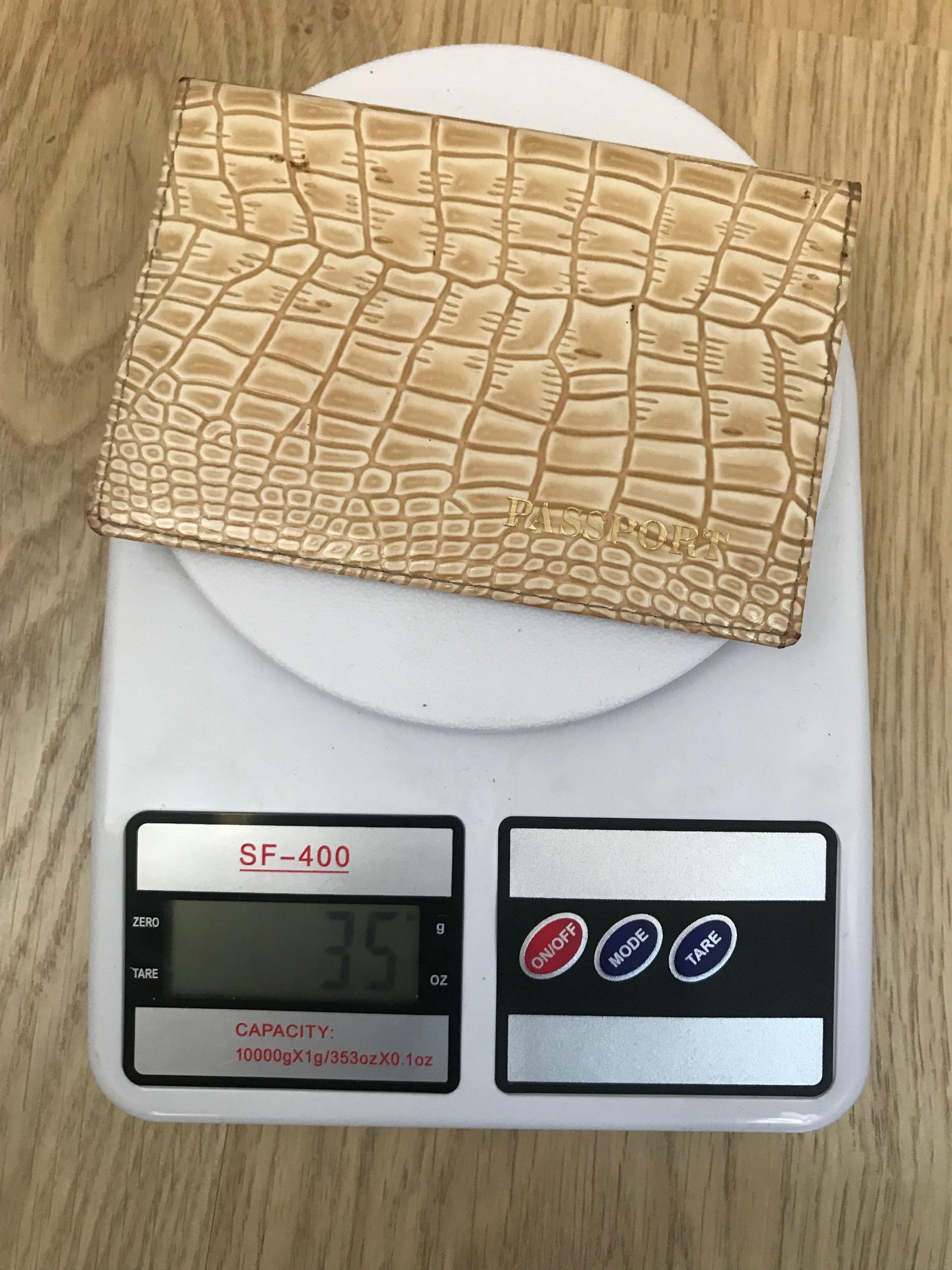 вес обложки для паспорта