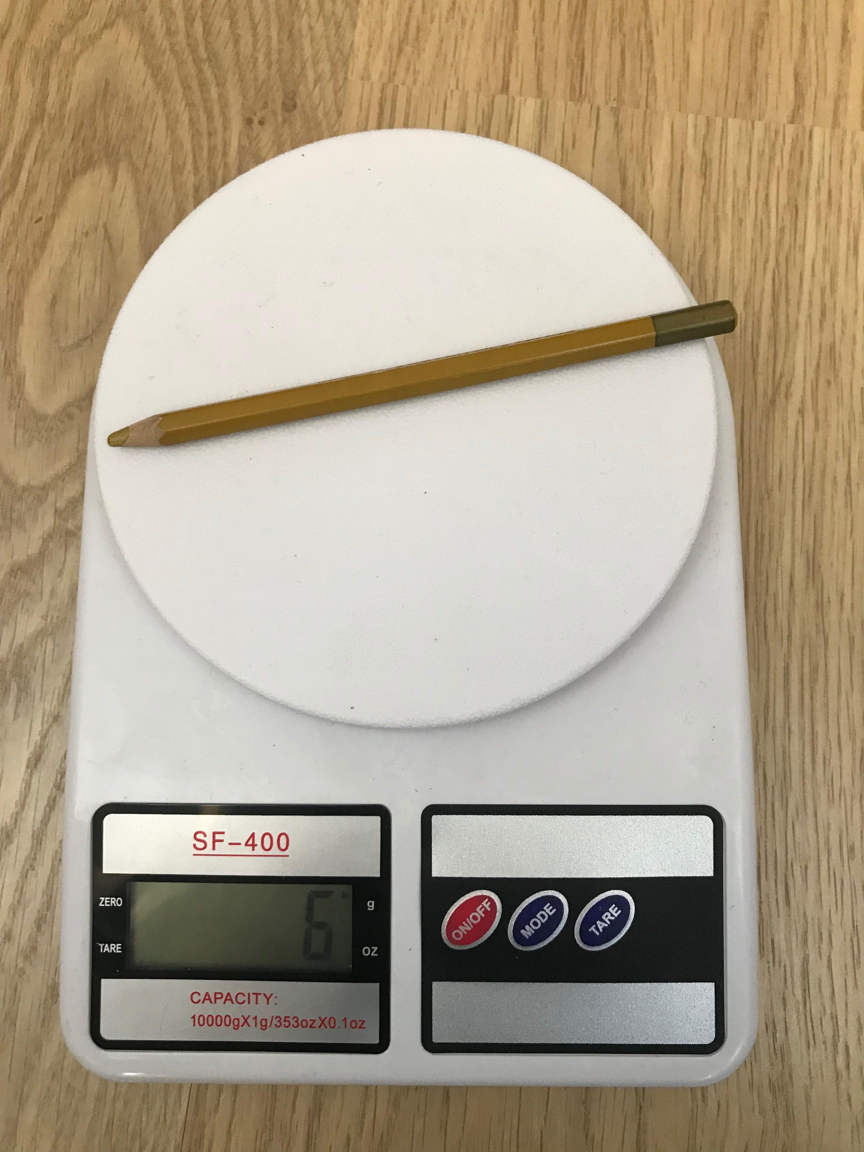 вес карандаша