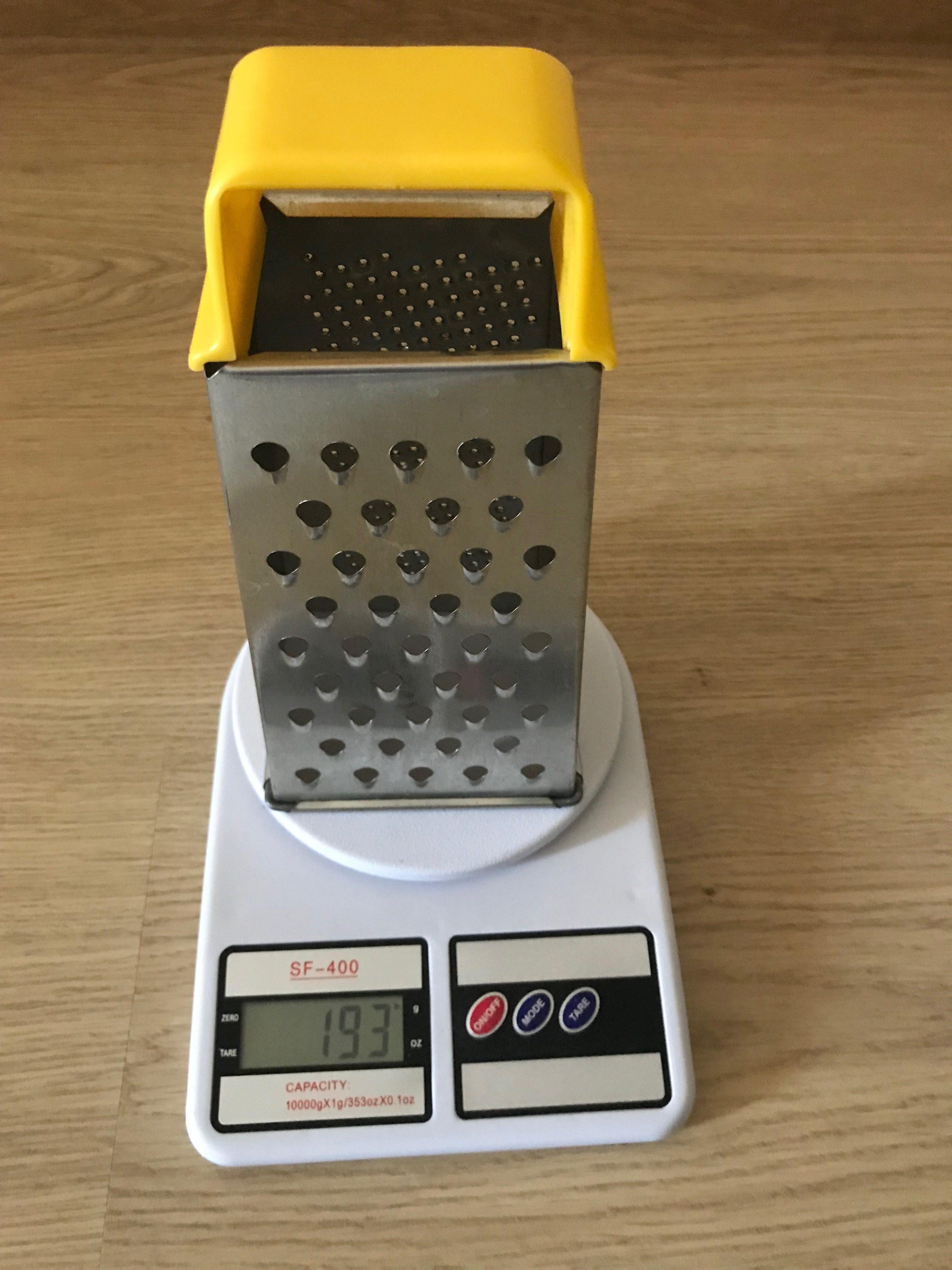 вес терки кухонной