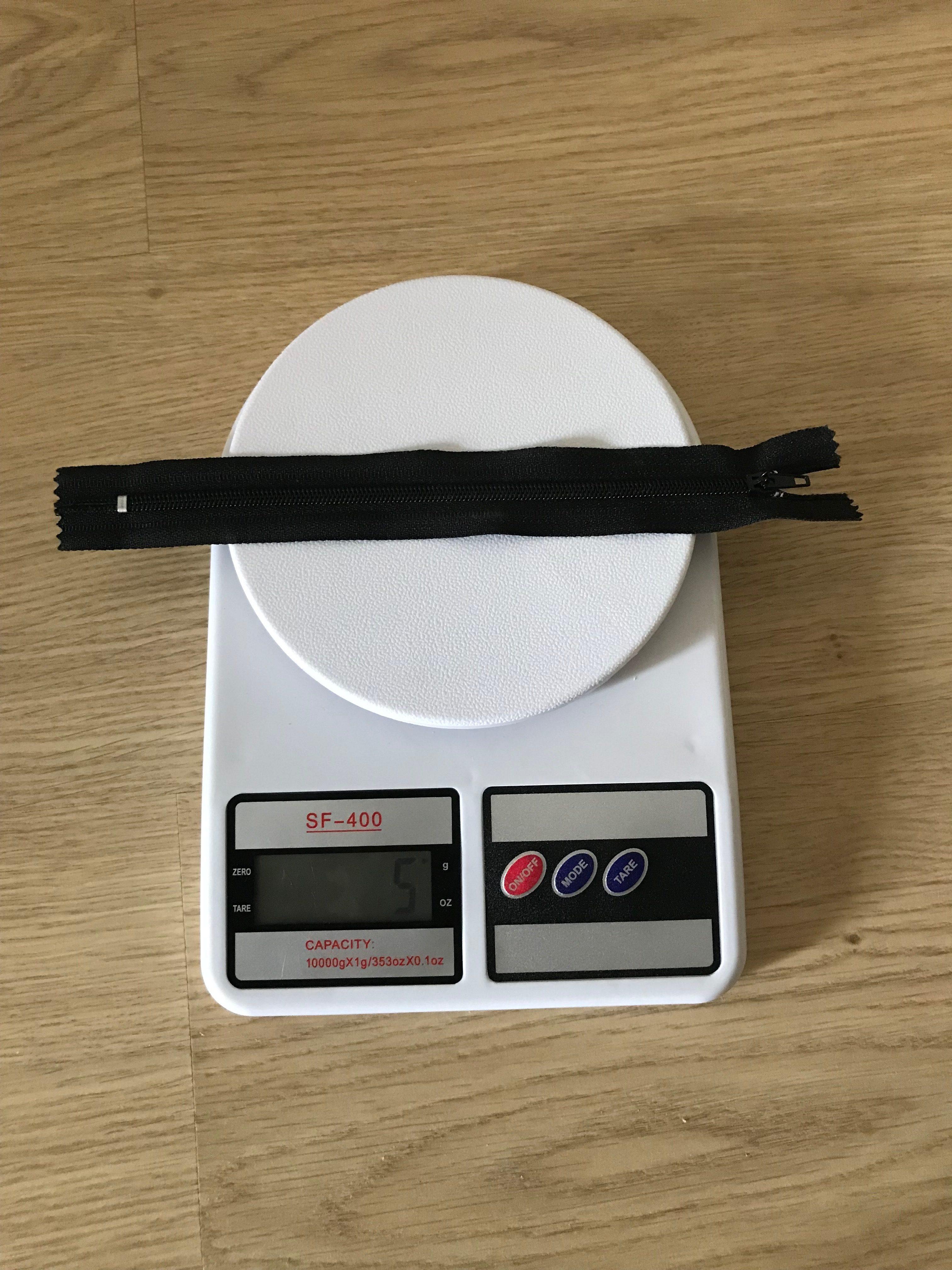 вес молнии