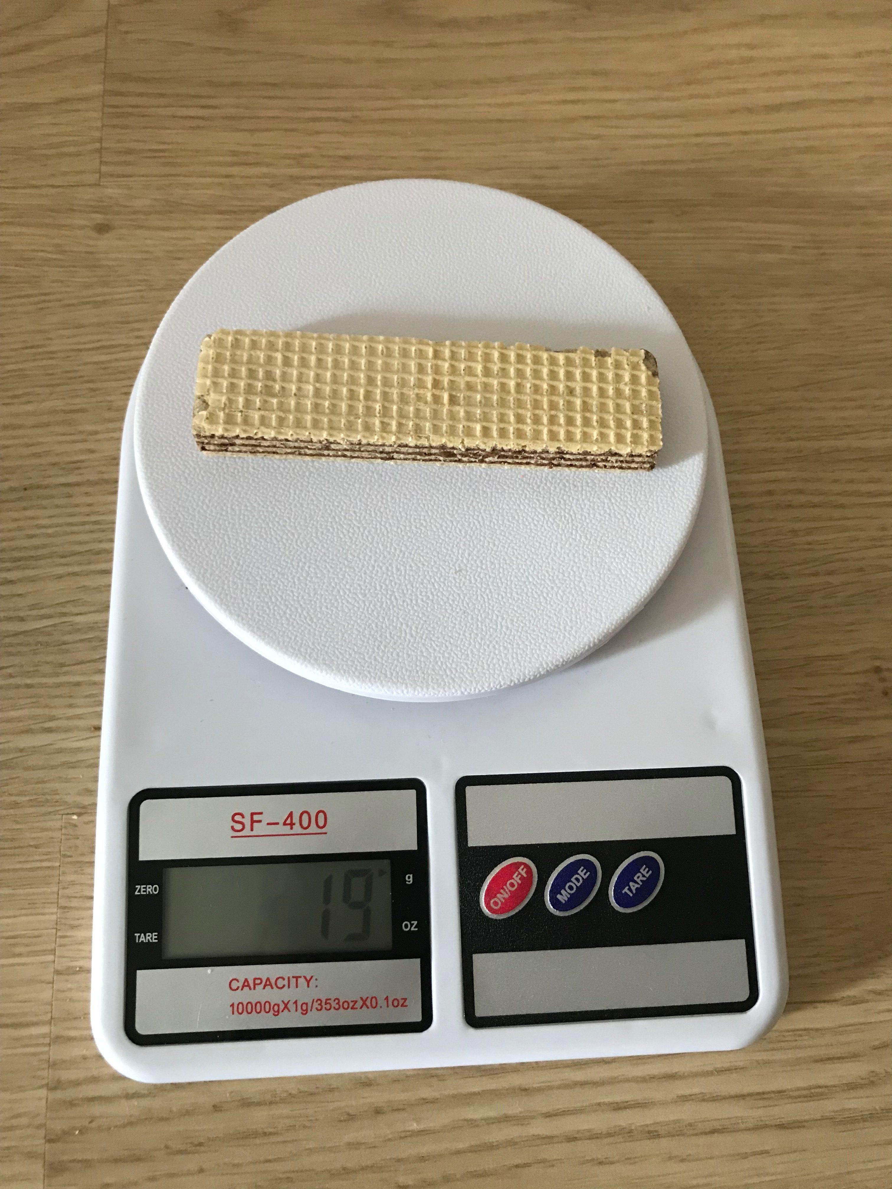 вес вафельки