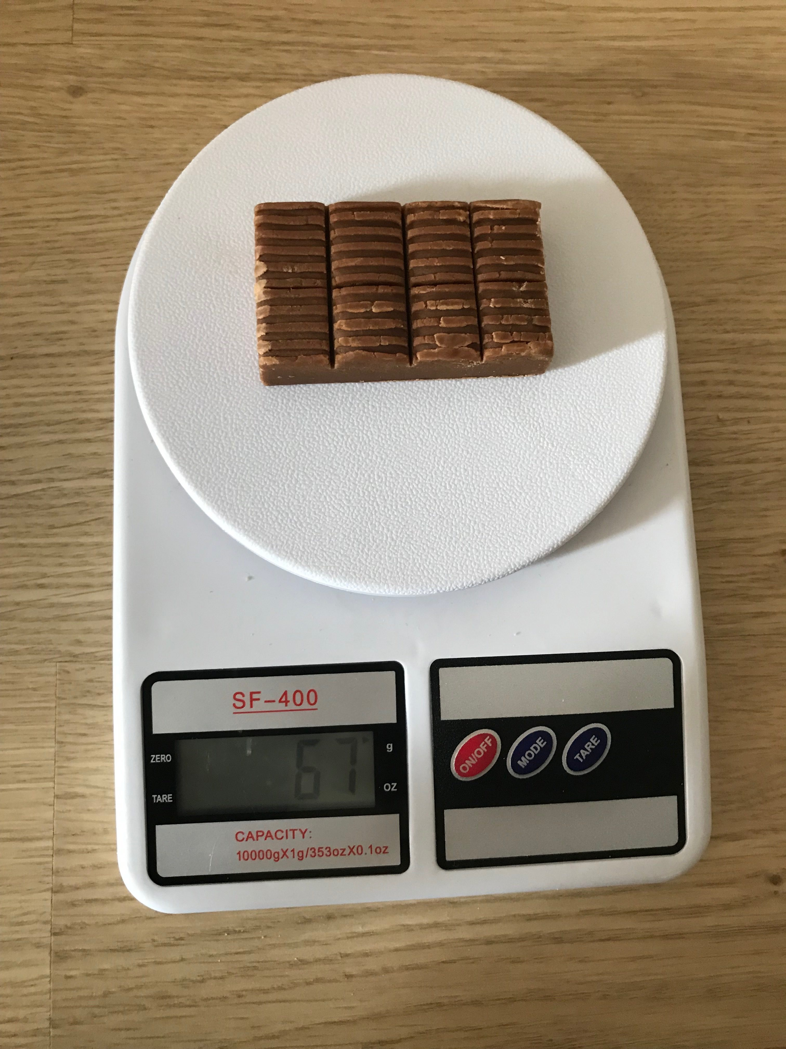 вес ириски
