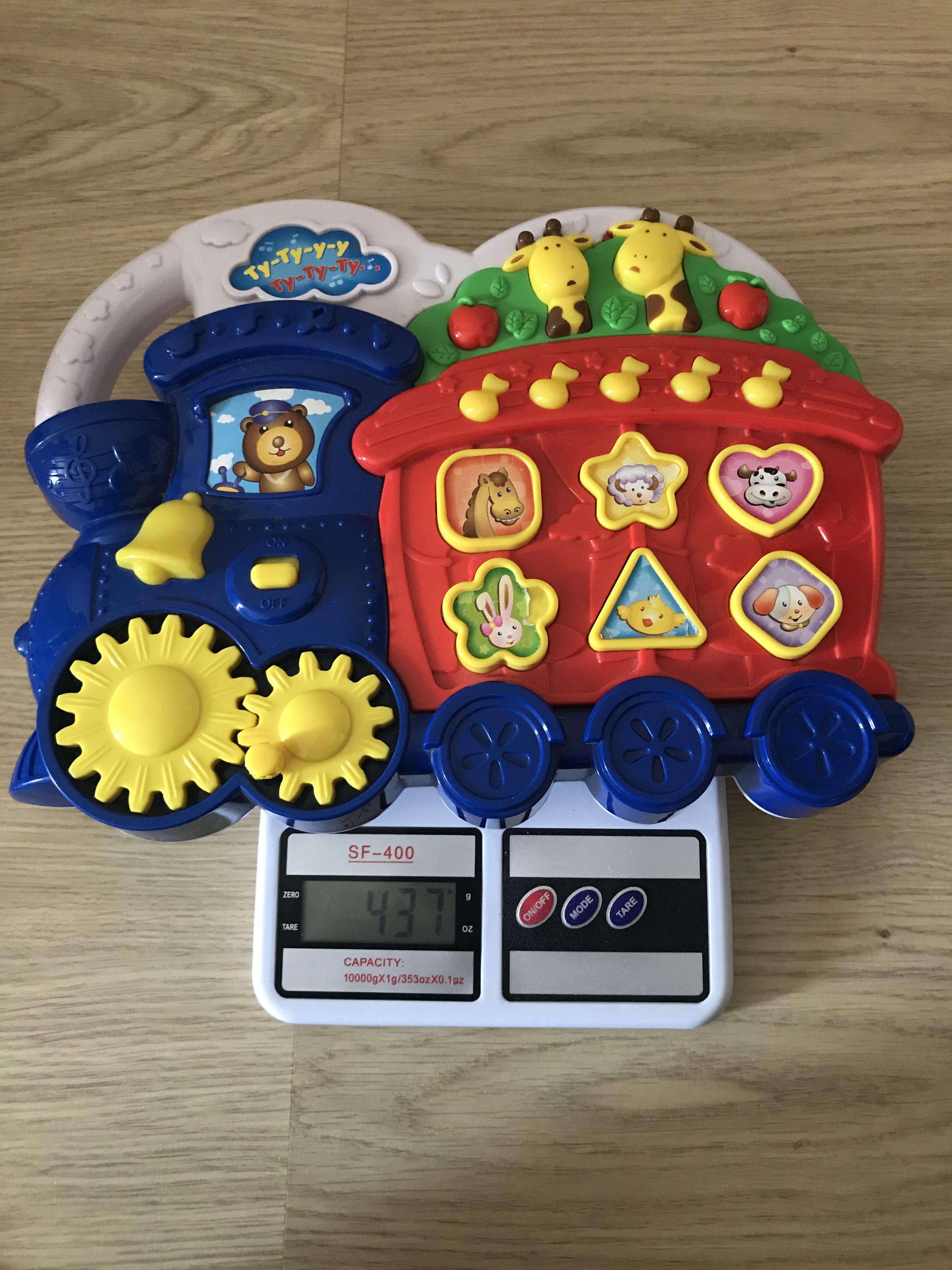 вес детской музыкальной игрушки (без батареек)