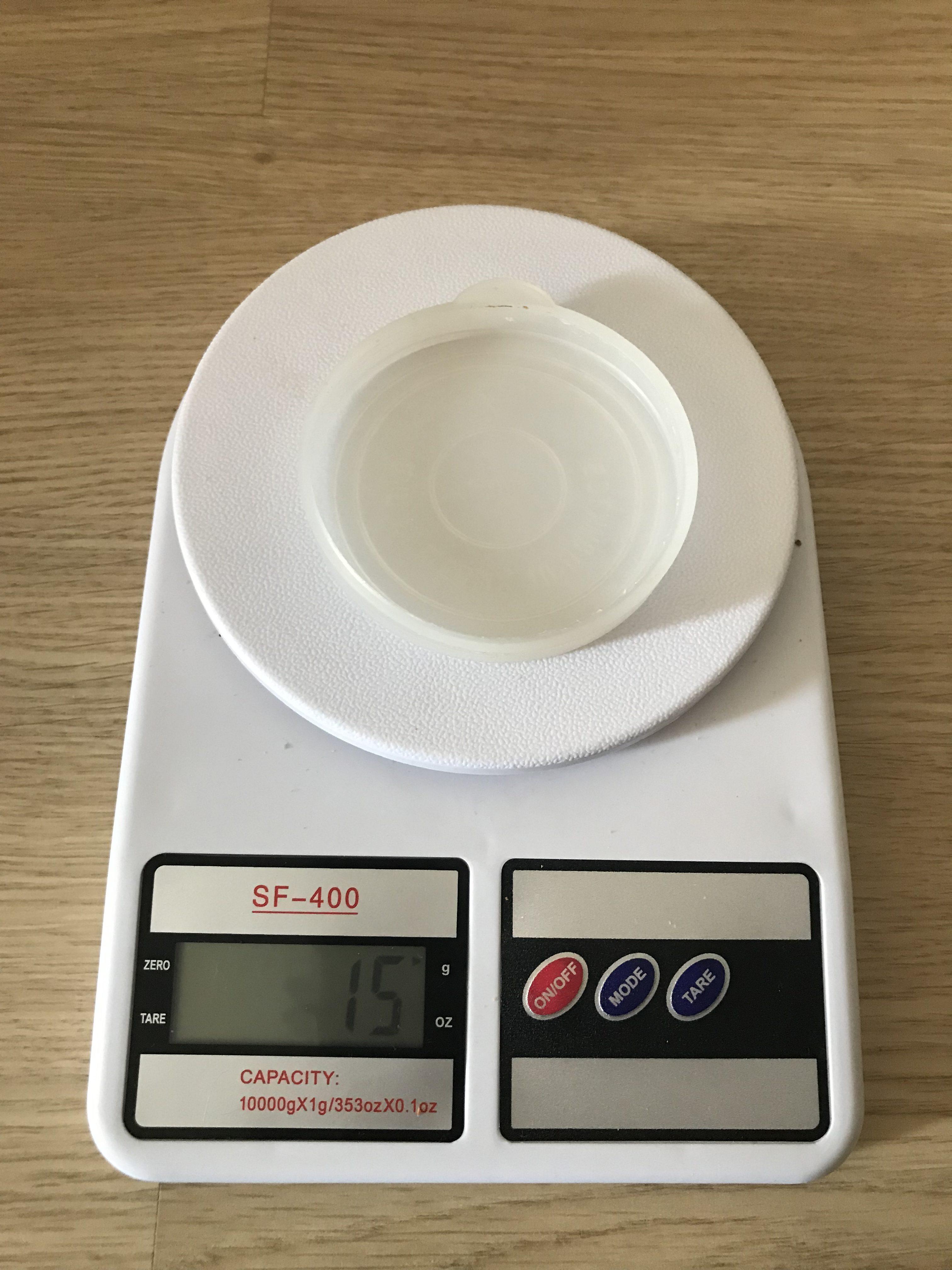 вес резиновой крышки