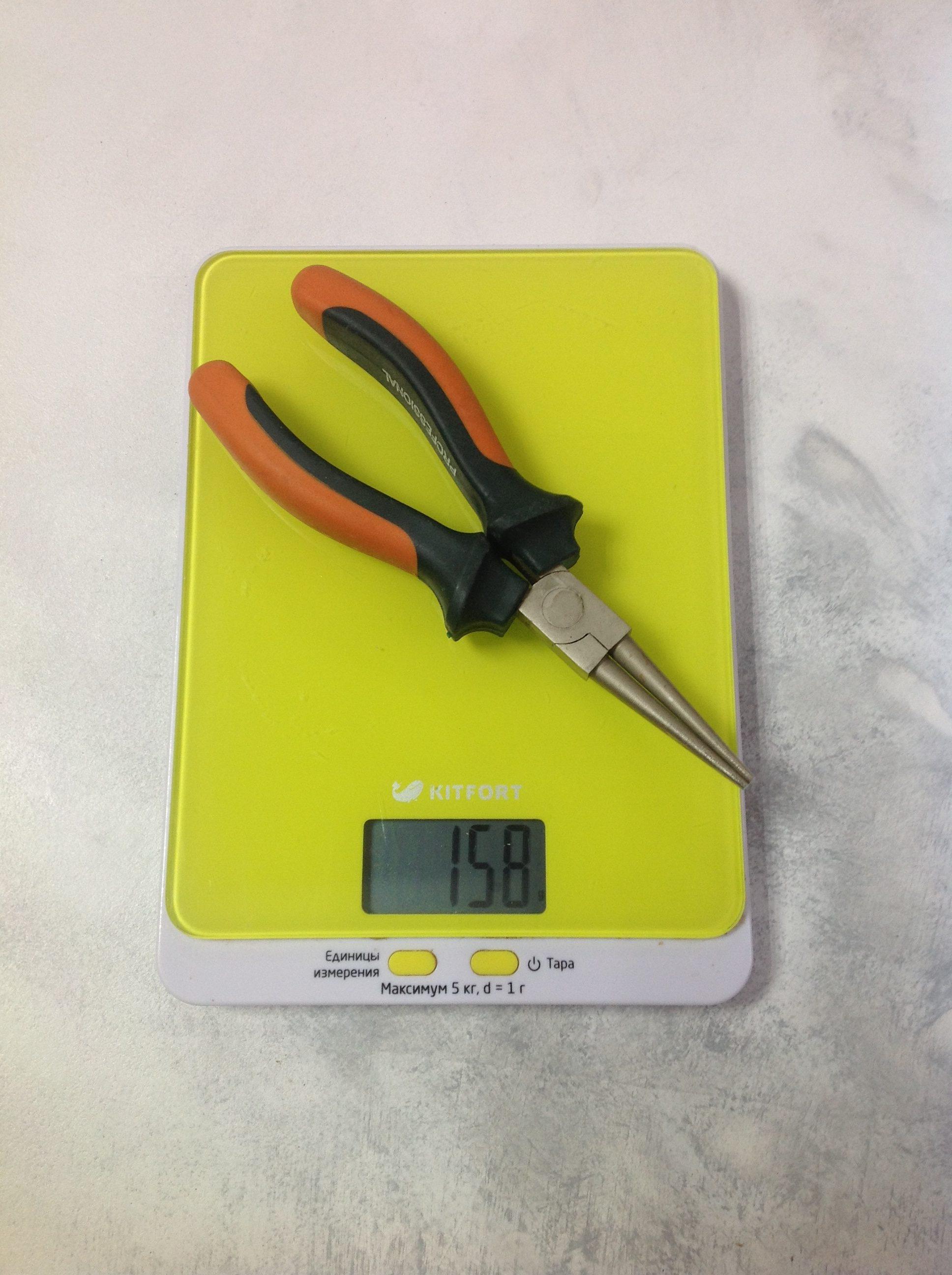 вес круглогубцев