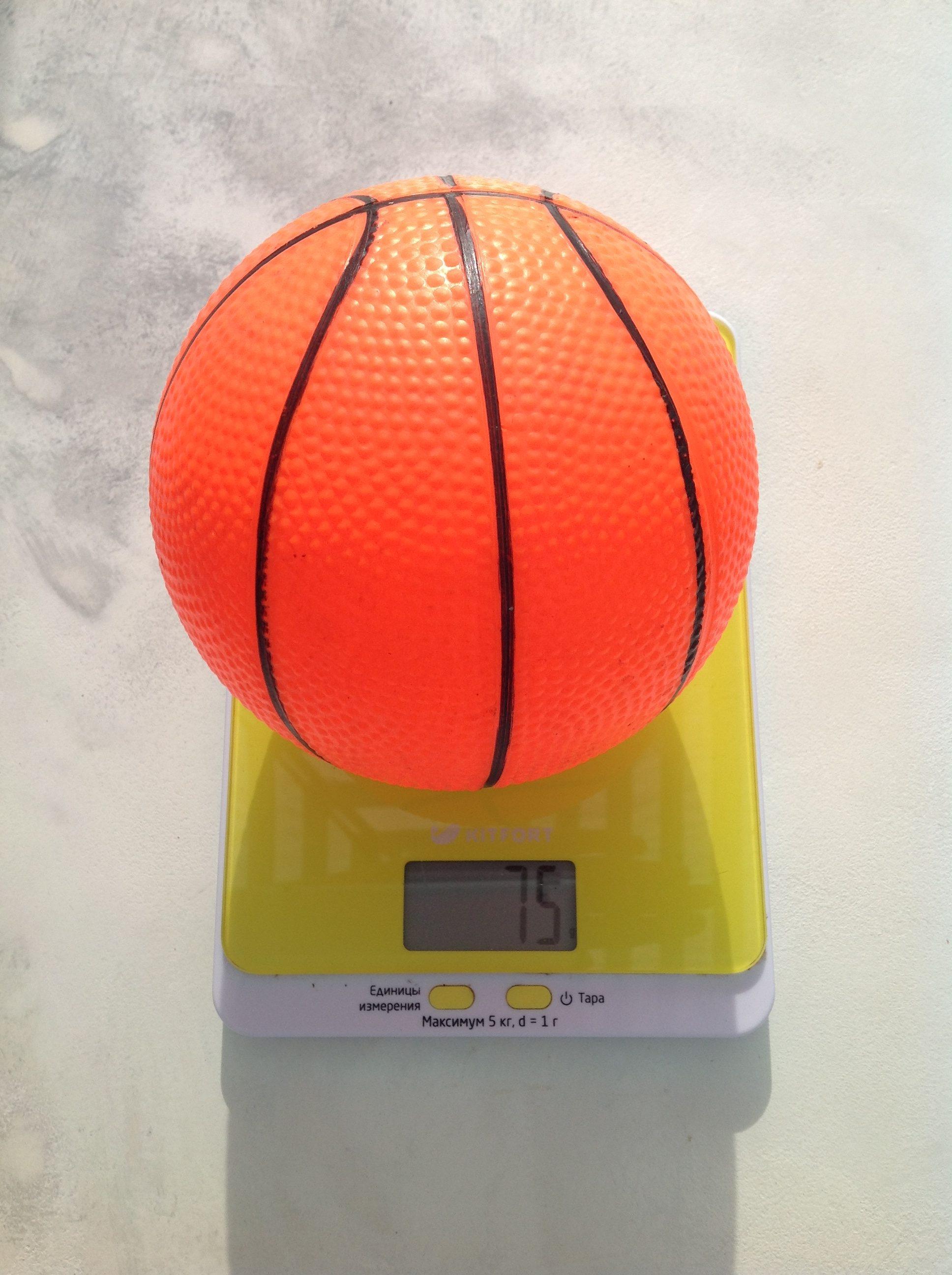 вес детского баскетбольного мяча