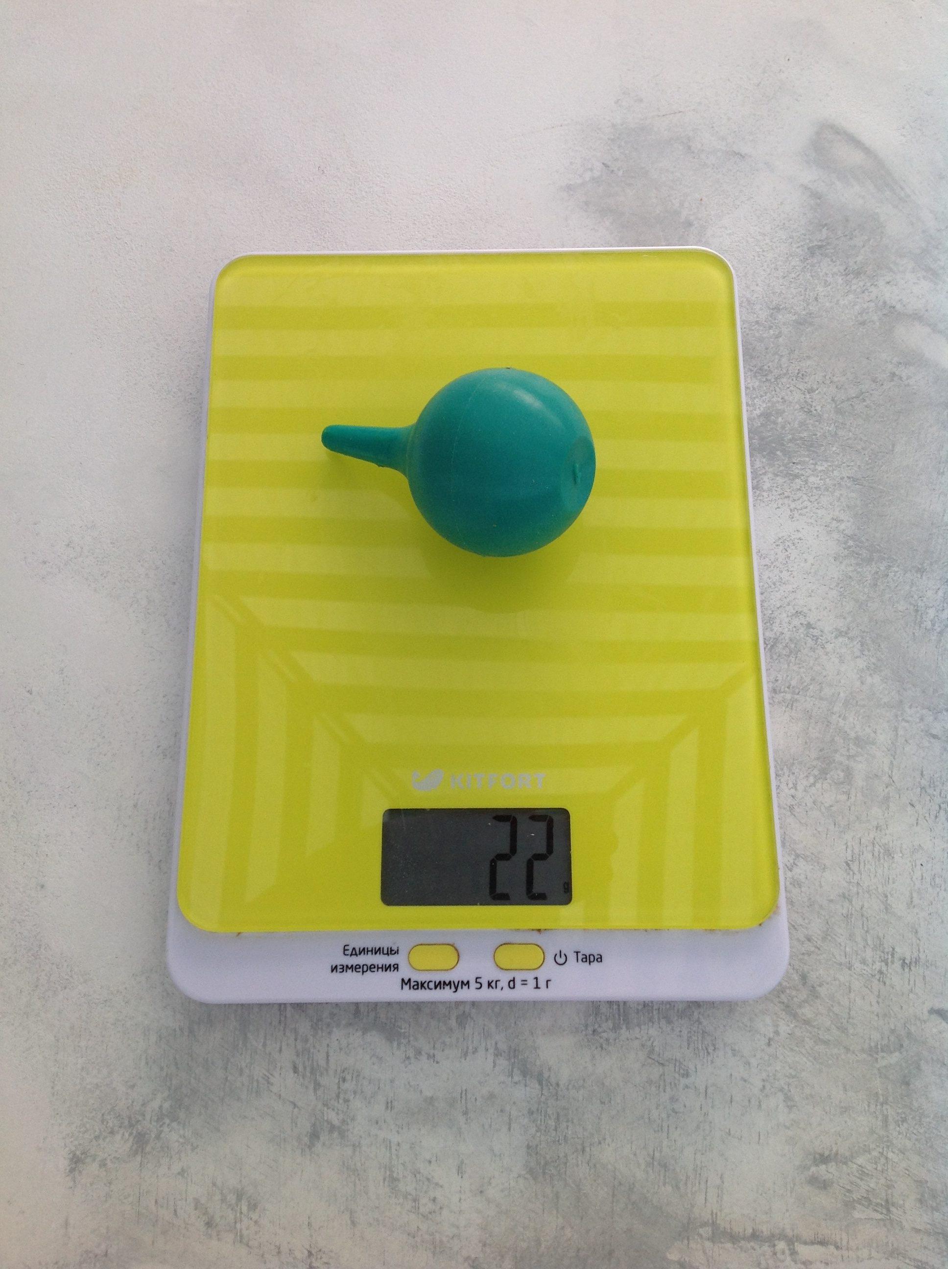 вес спринцовки малой