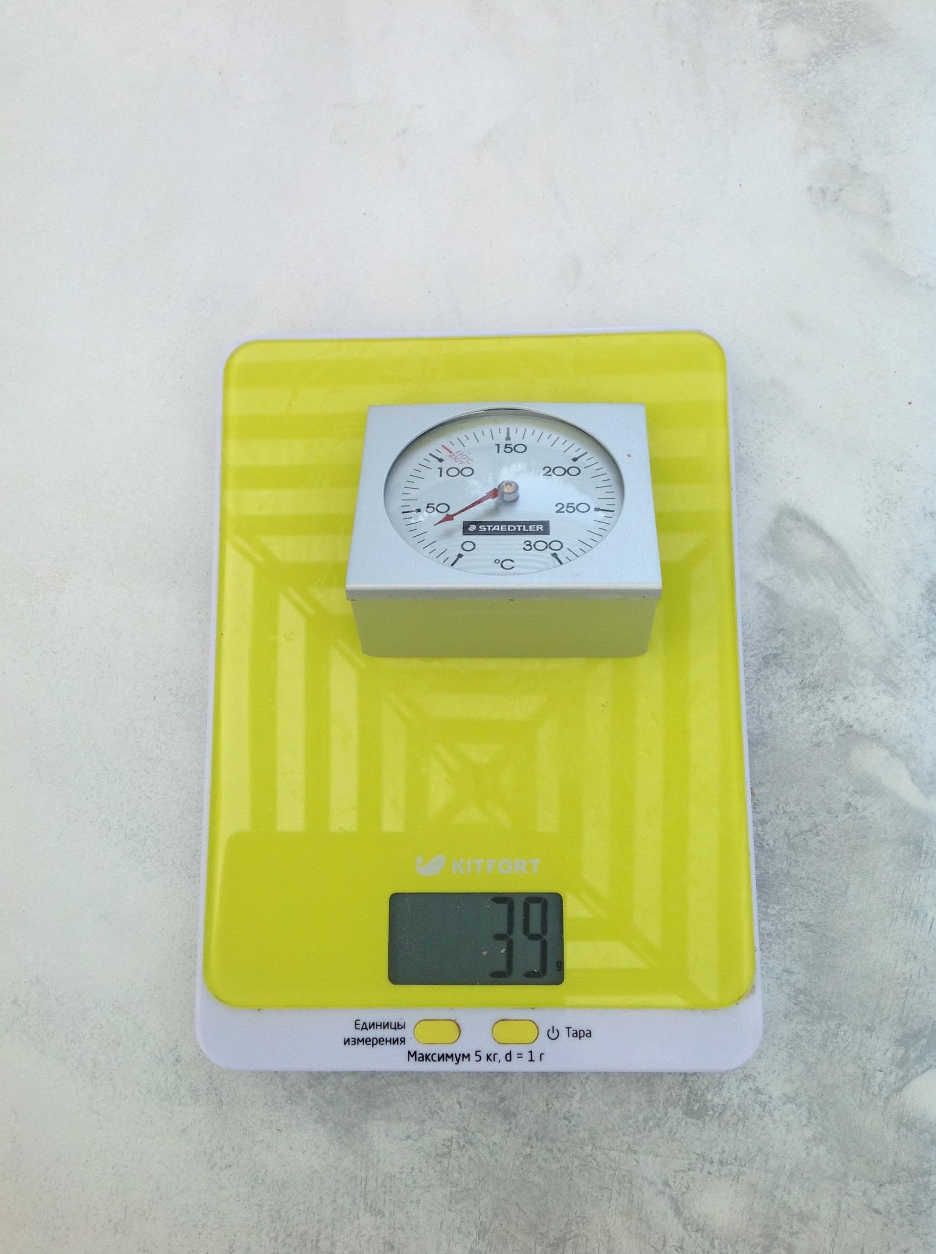 вес термометра для духовки fimo
