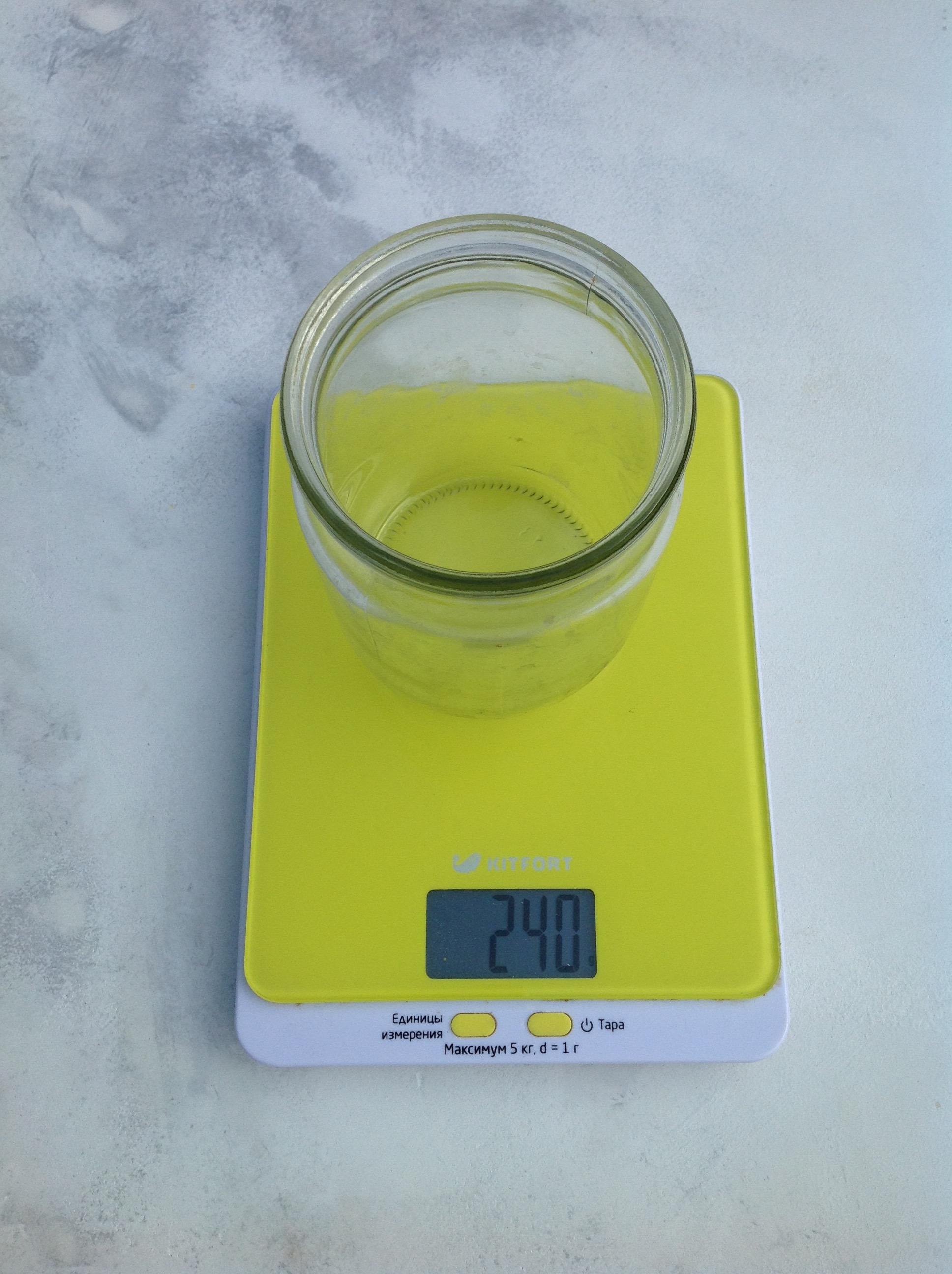 вес банки стеклянной 0,5 л