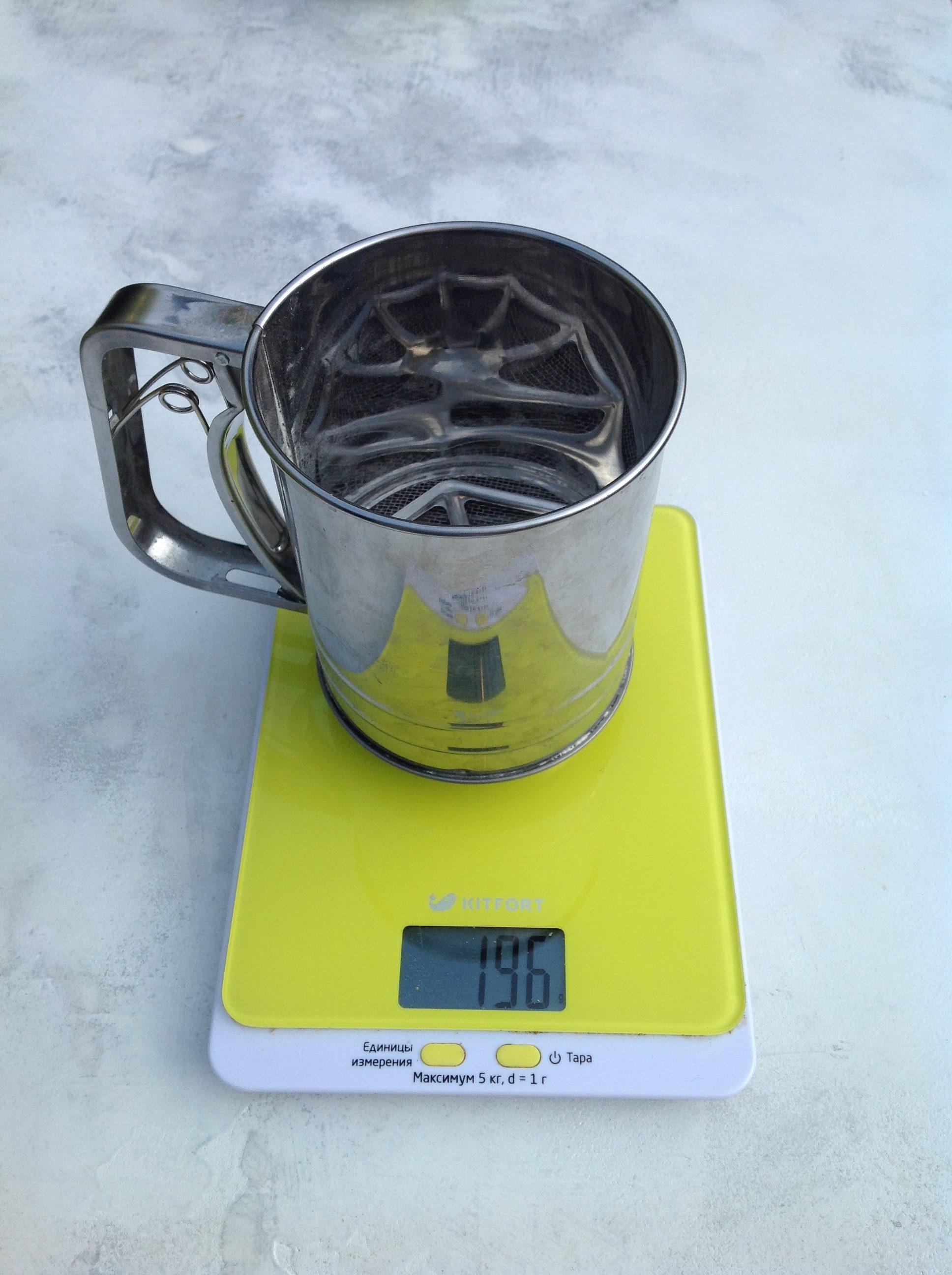 вес просеивателя для муки механического