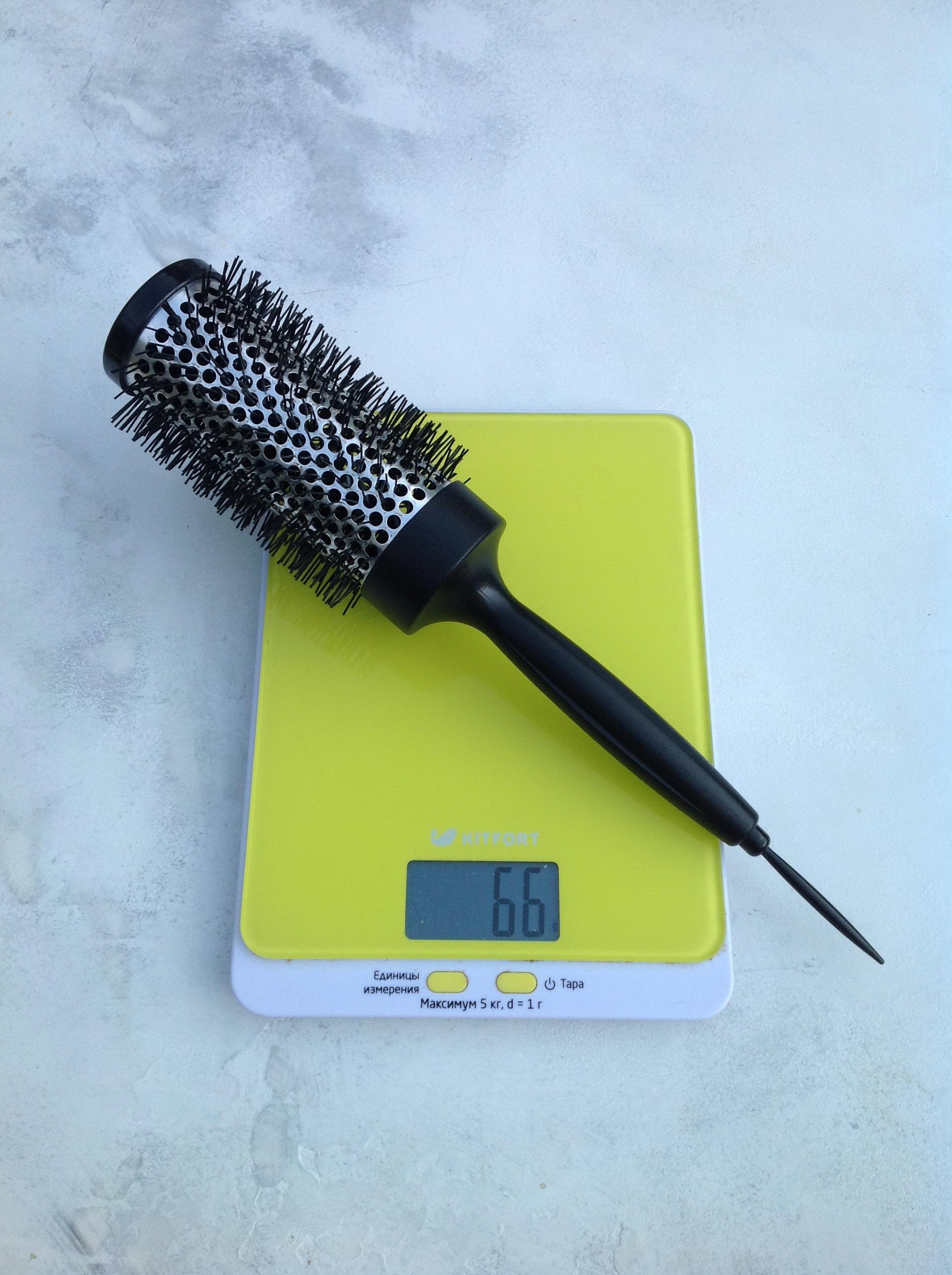 вес расчески парикмахерской брашинг