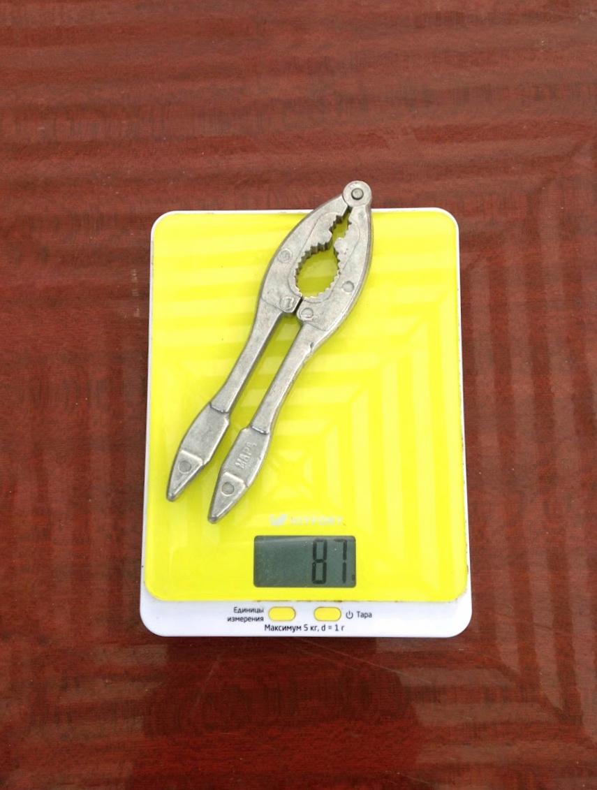 вес орехокола