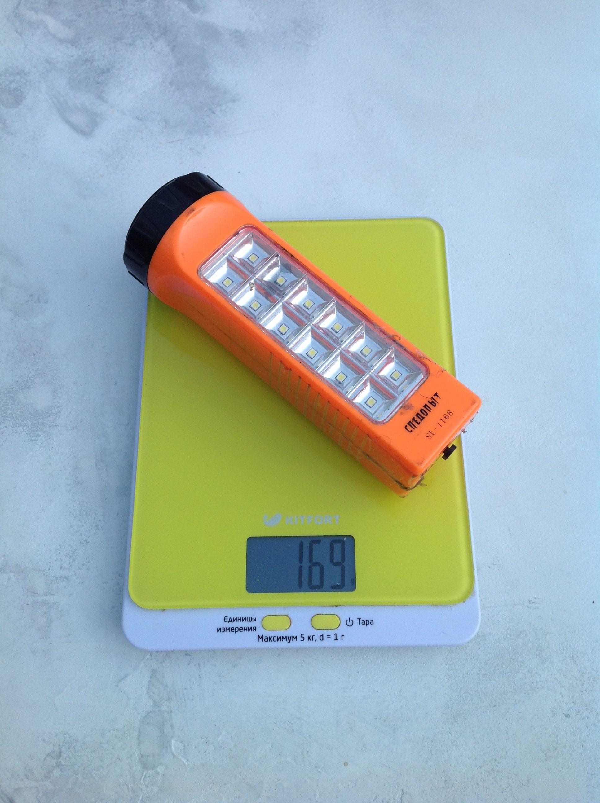 вес фонаря светодиодного среднего двустороннего