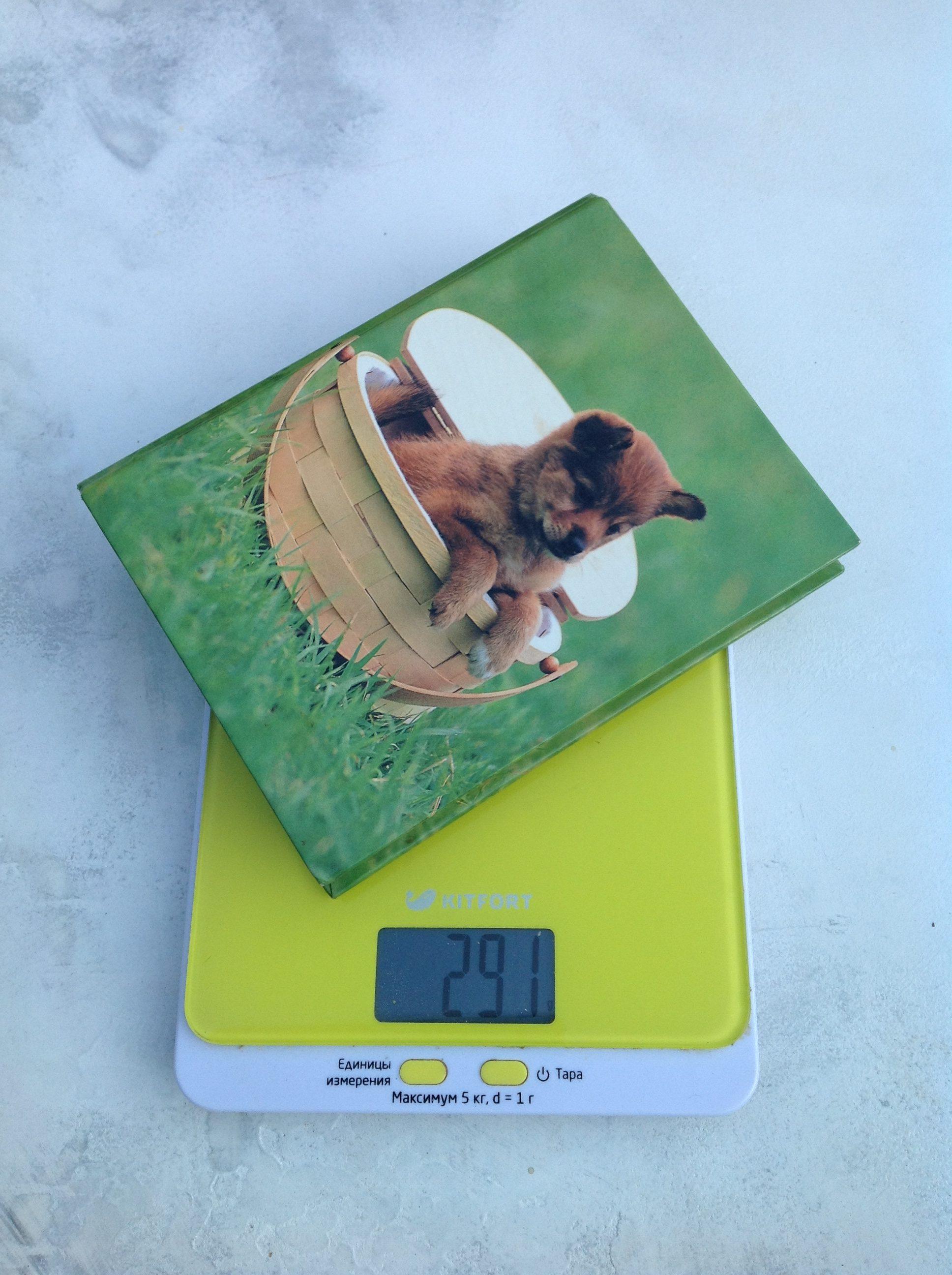 вес фотоальбома а5 малого