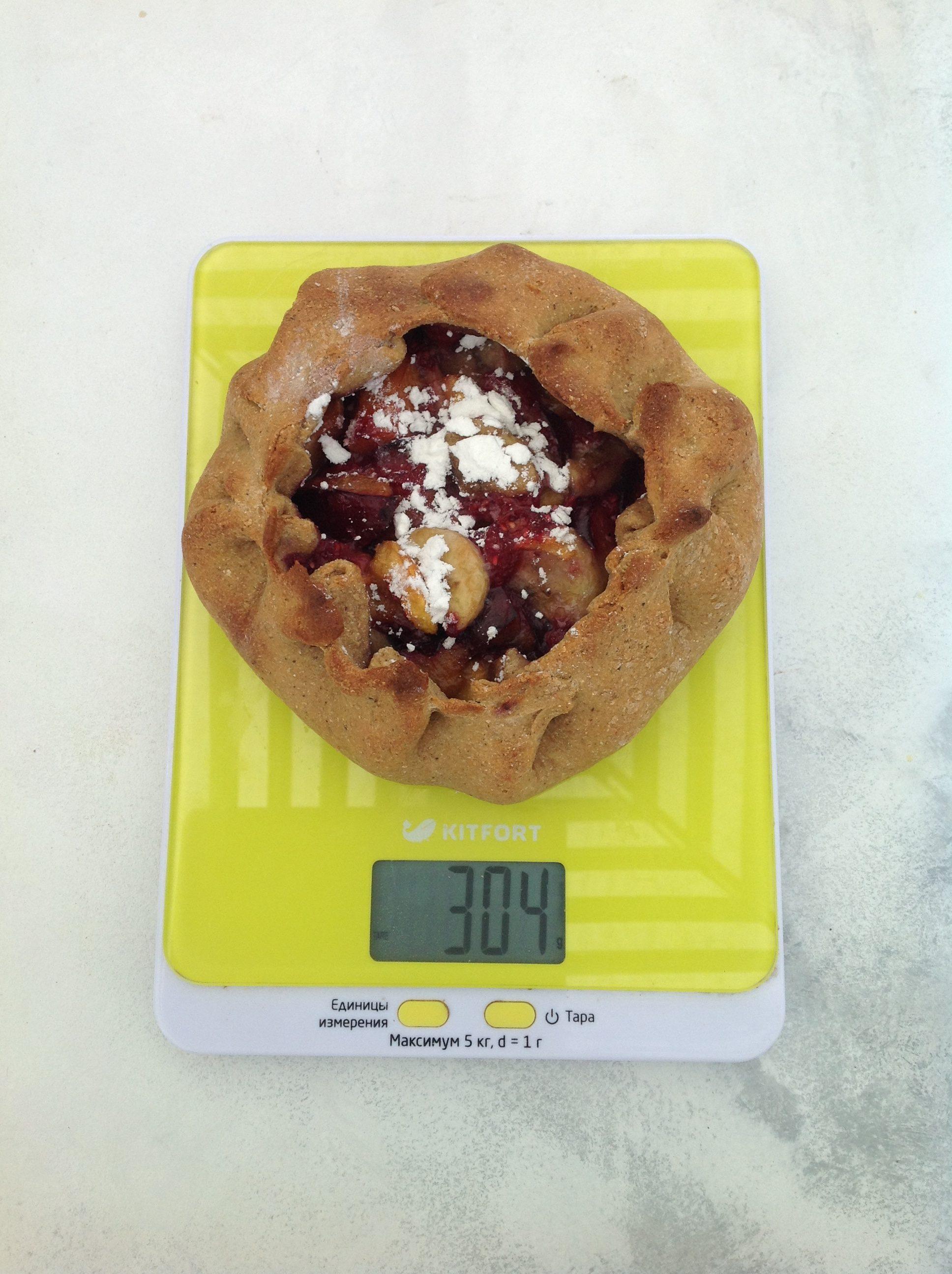 вес ягодного галета