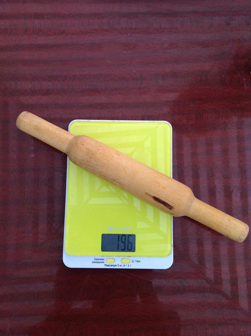 вес скалки