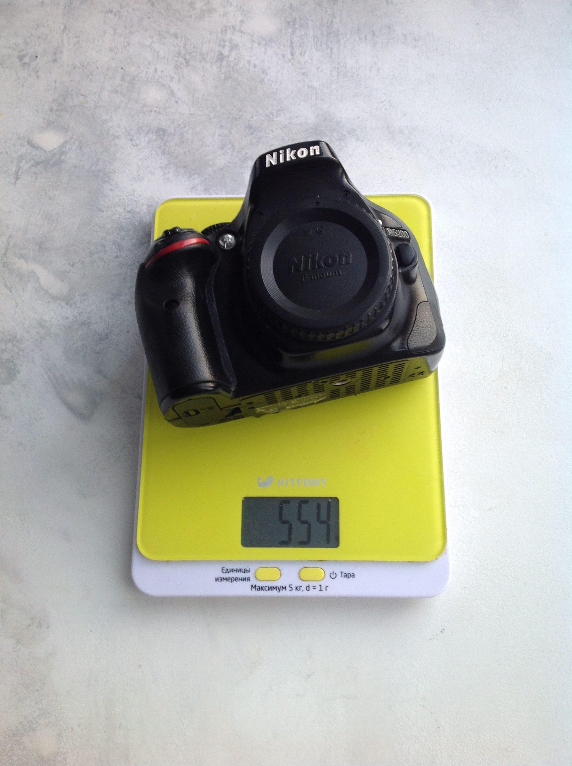 вес фотоаппарата nikon d500 body