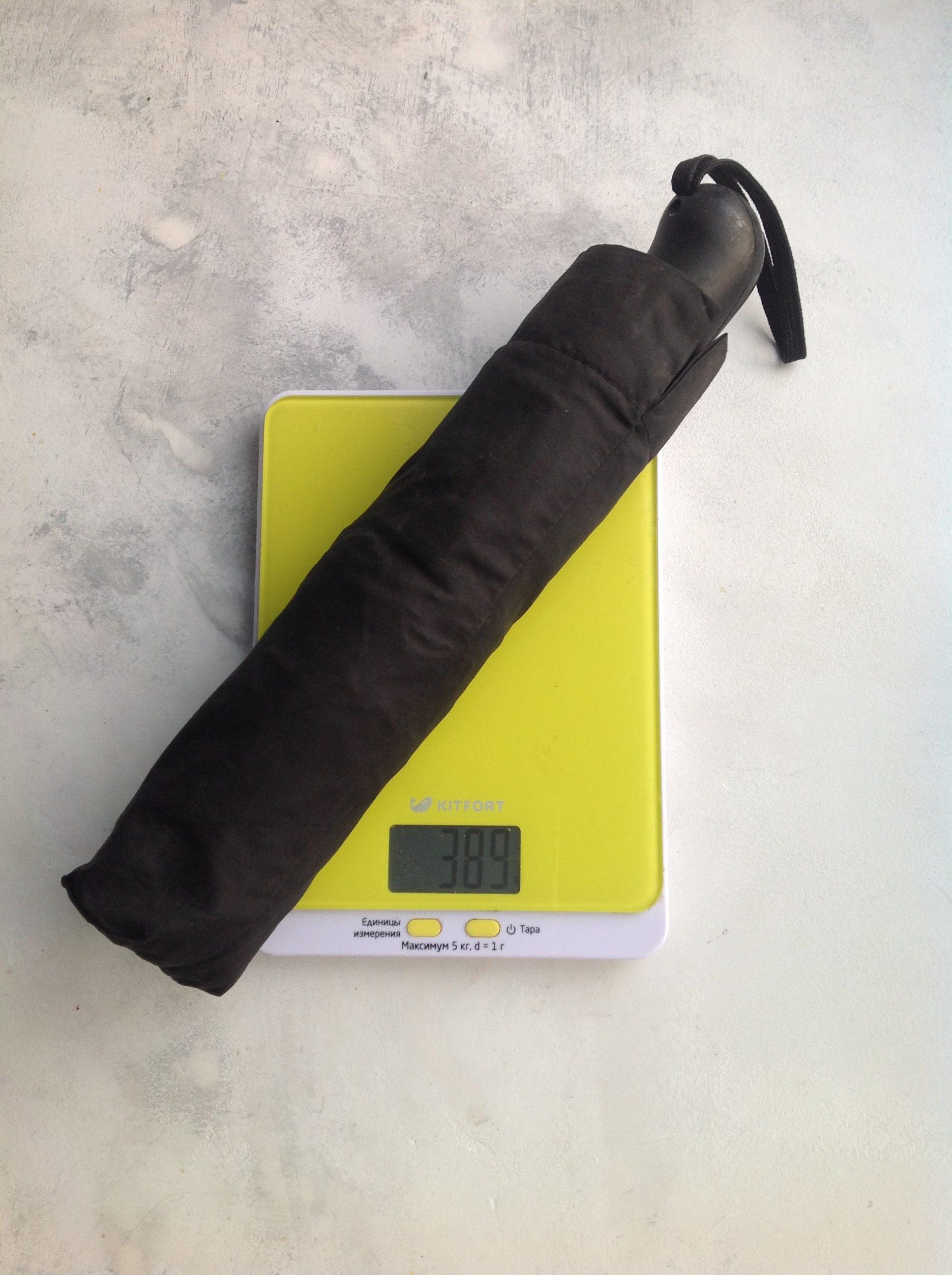 вес зонта складного в чехле