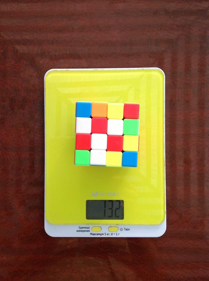 вес кубика рубика