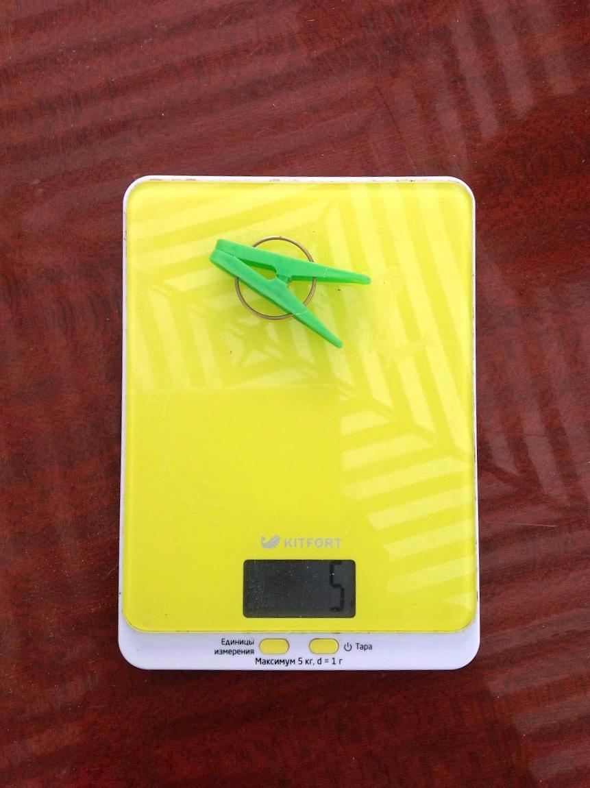 вес бельевой прищепки пластиковой