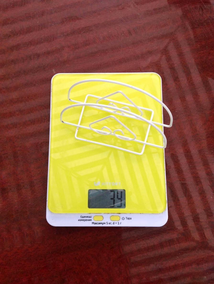вес металлической салфетницы малой