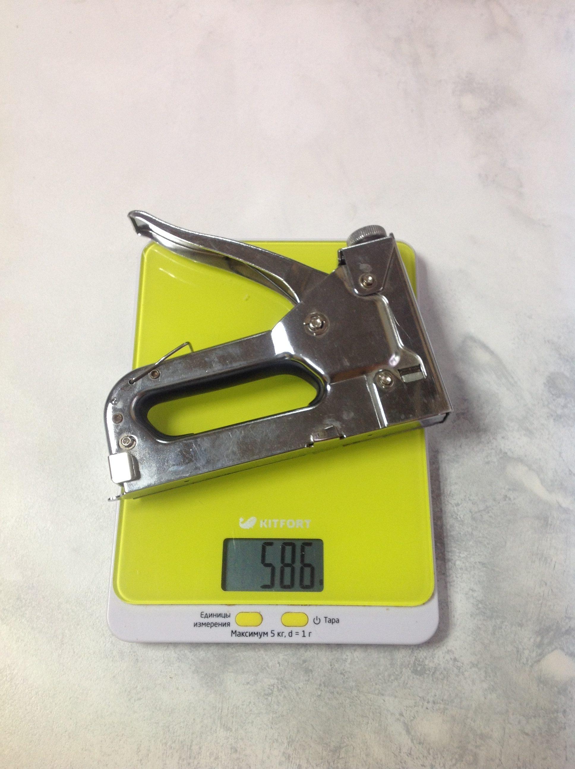 вес степлера мебельного строительного
