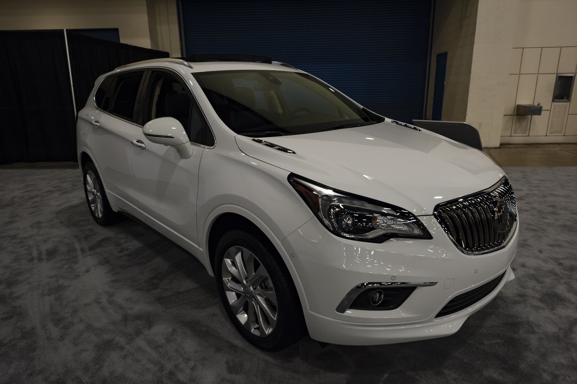 вес buick envision