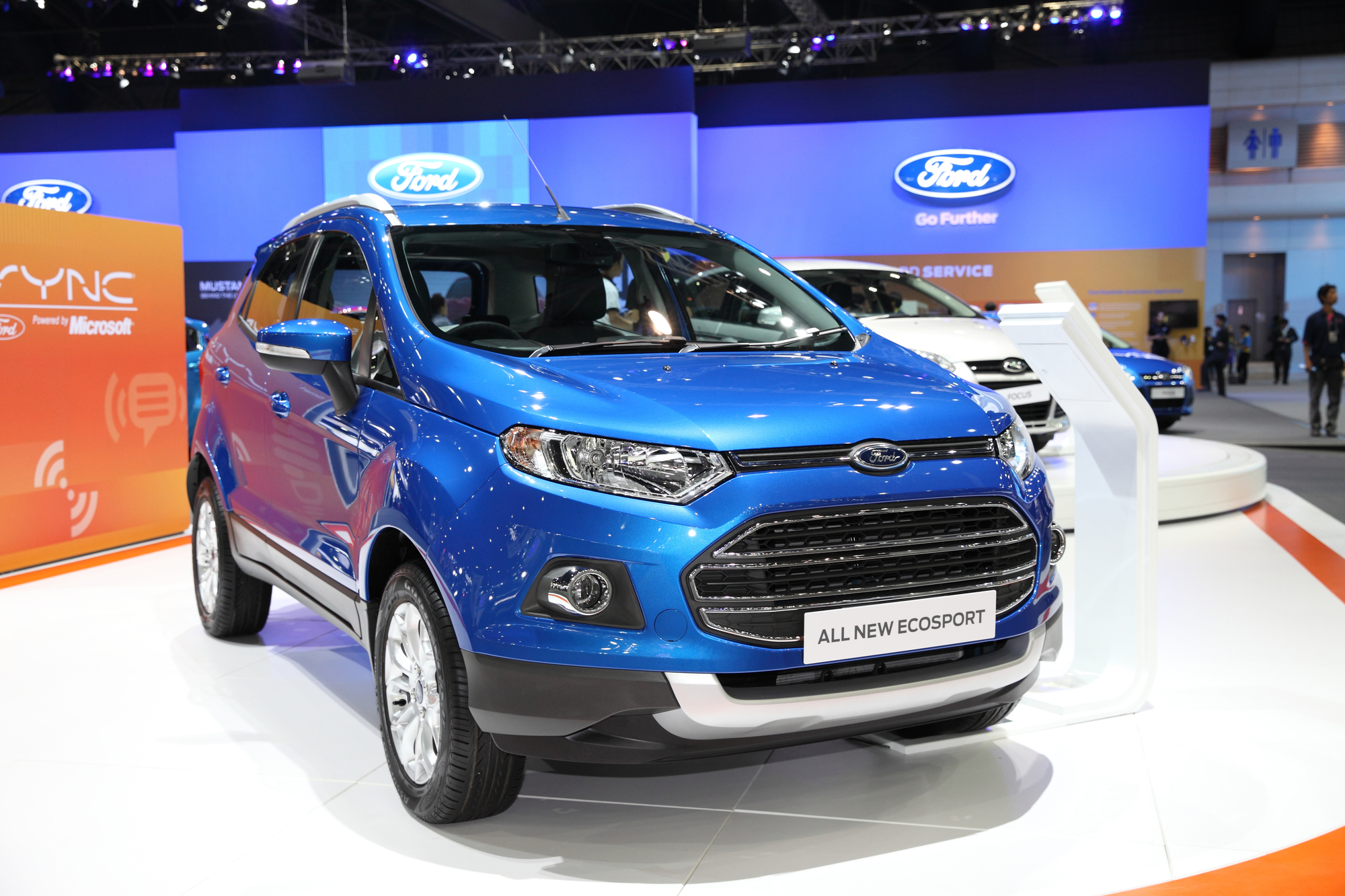 вес ford ecosport