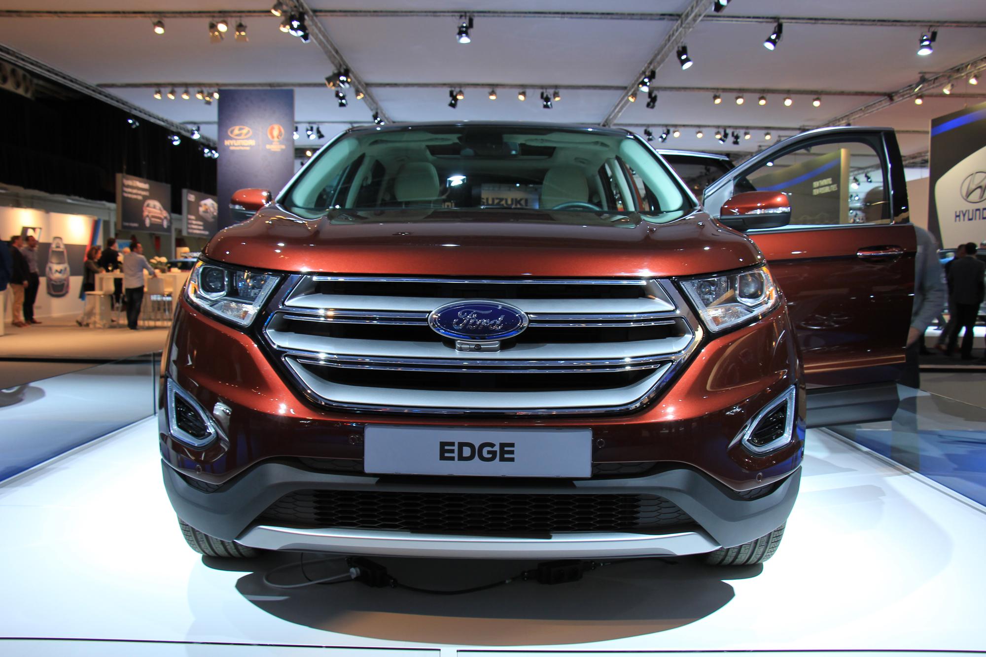 вес ford edge