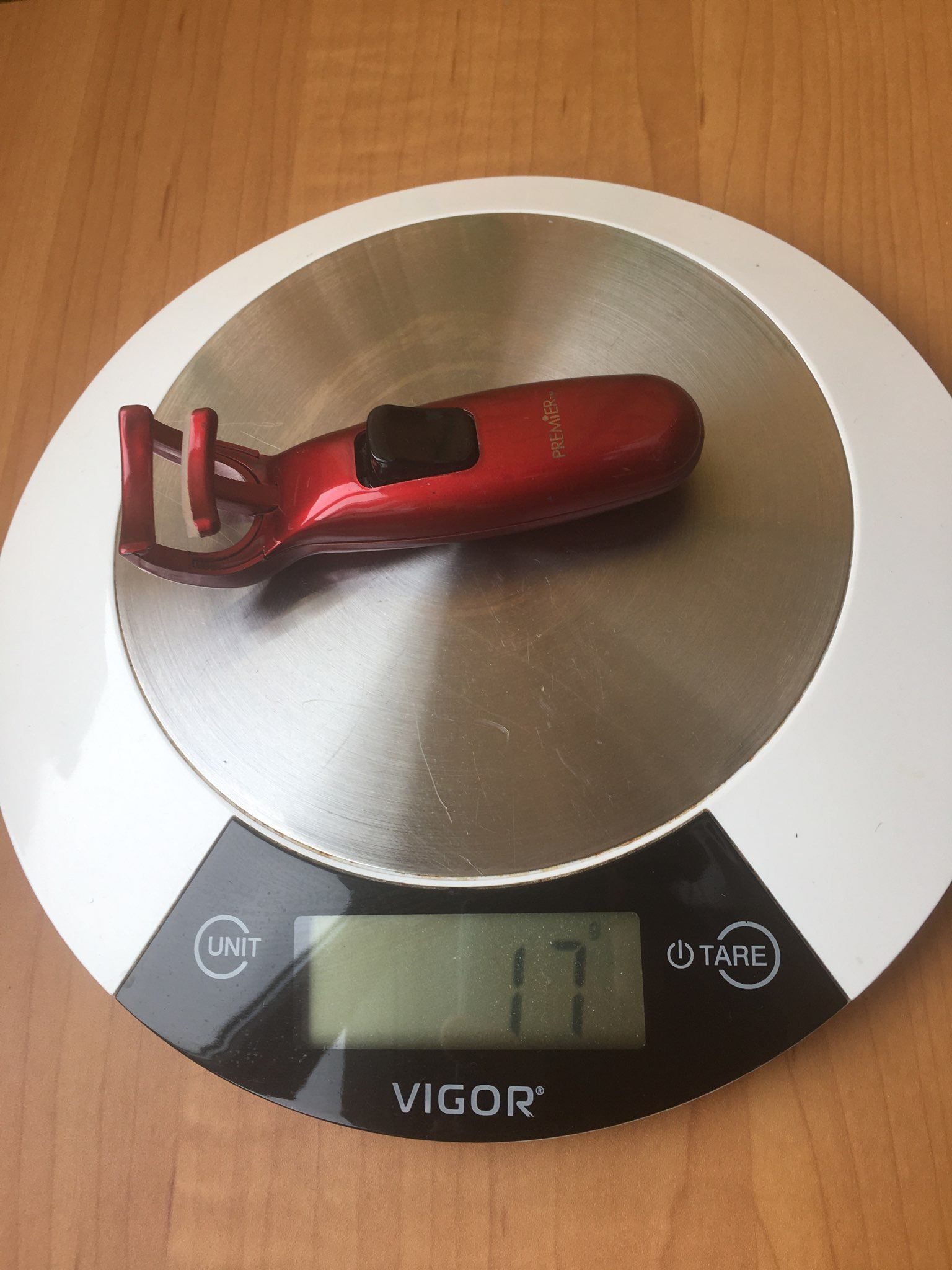 вес щипцов для ресниц