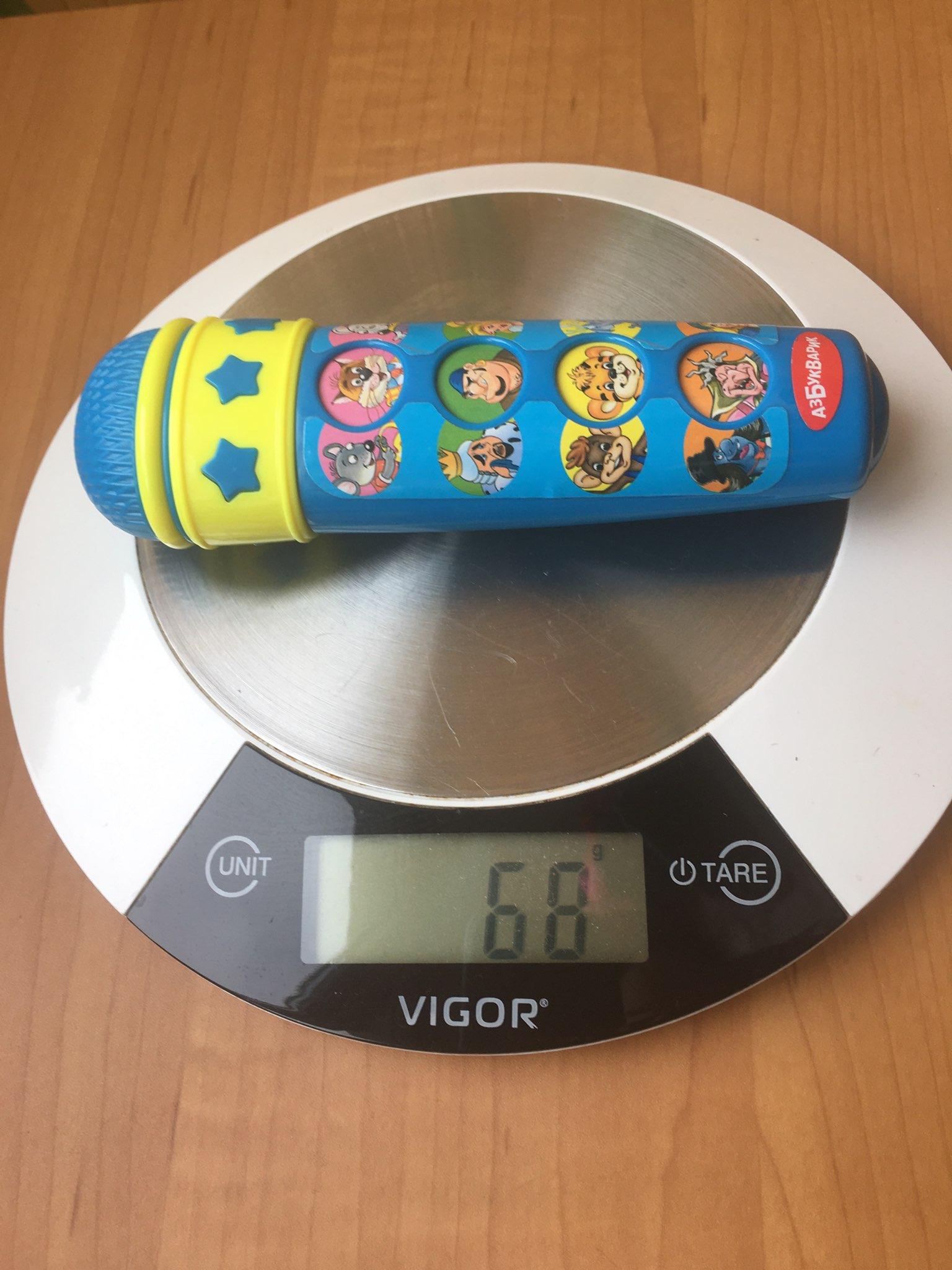 вес микрофона детского