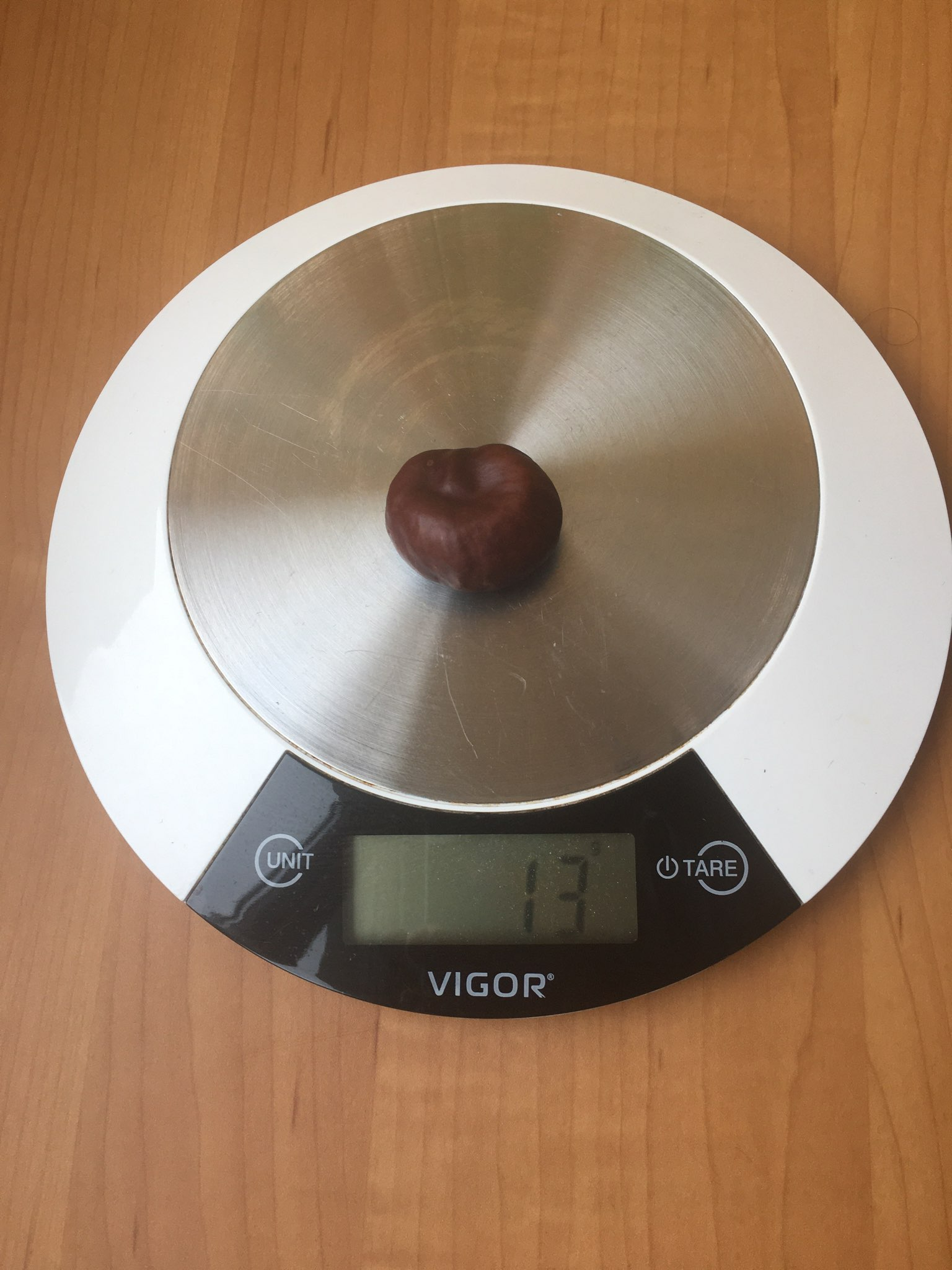 вес каштана без скорлупы