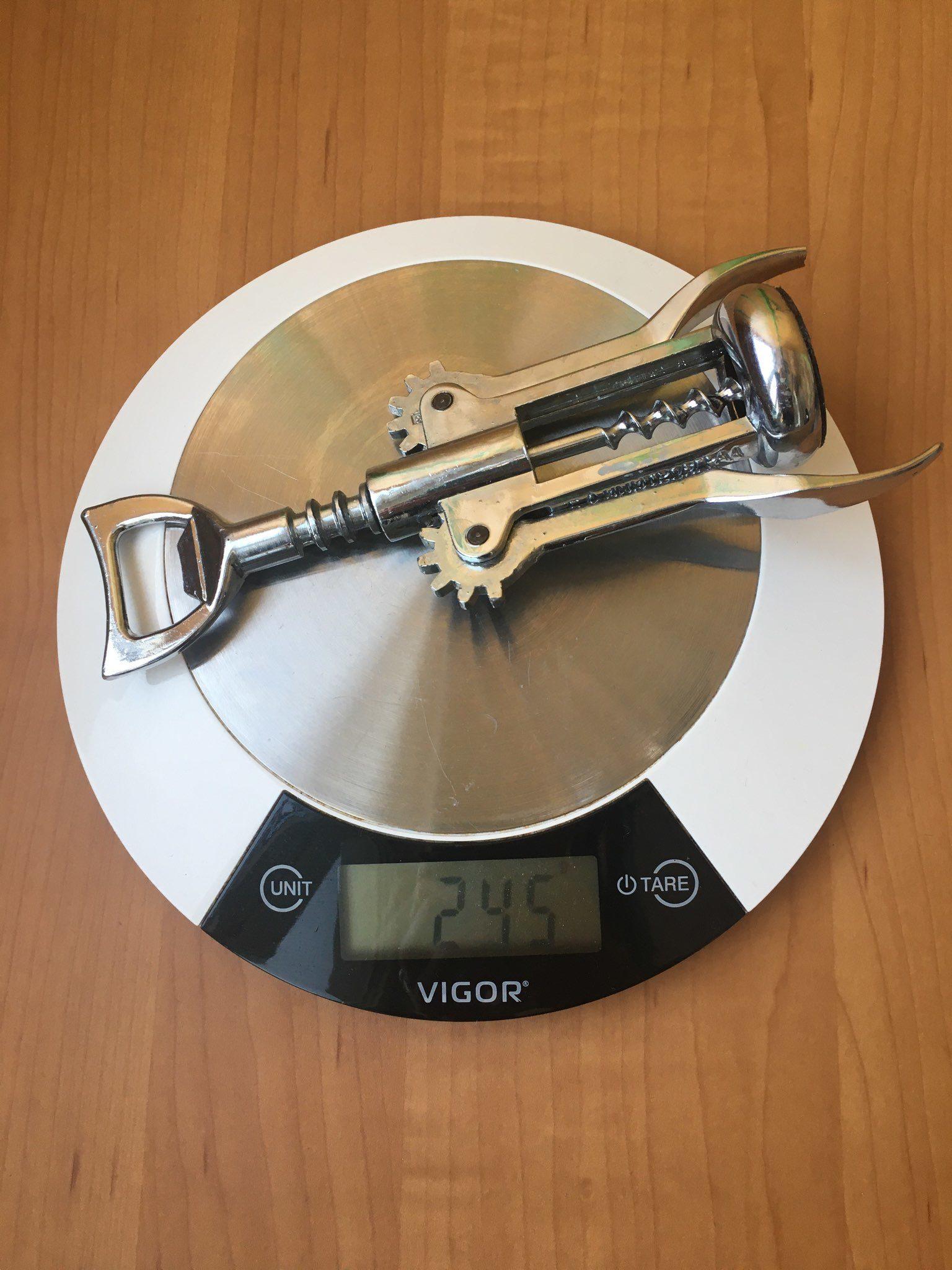 вес штопора