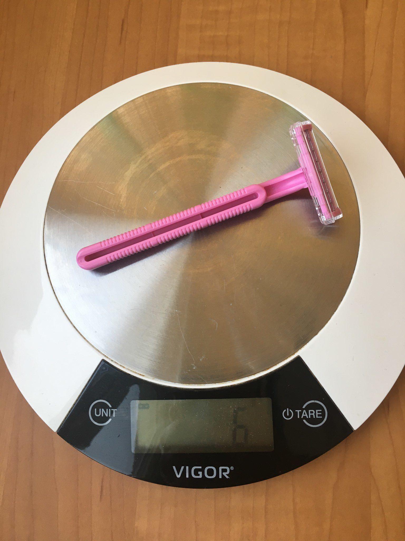 вес бритвенного станока