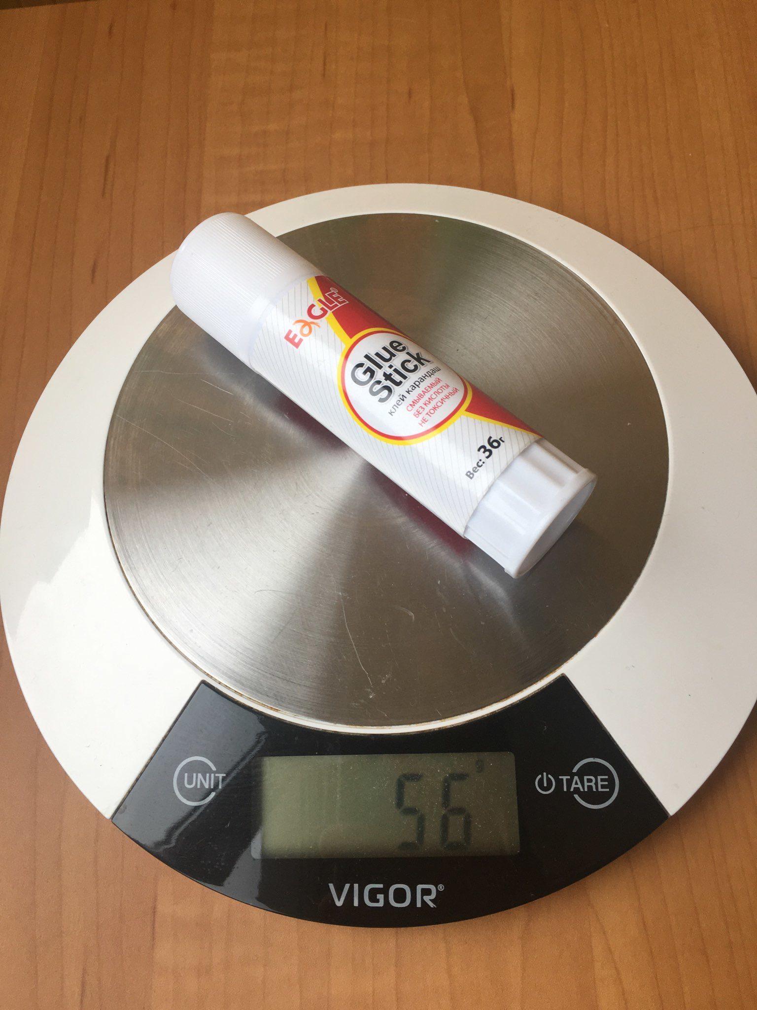 вес клея карандаша