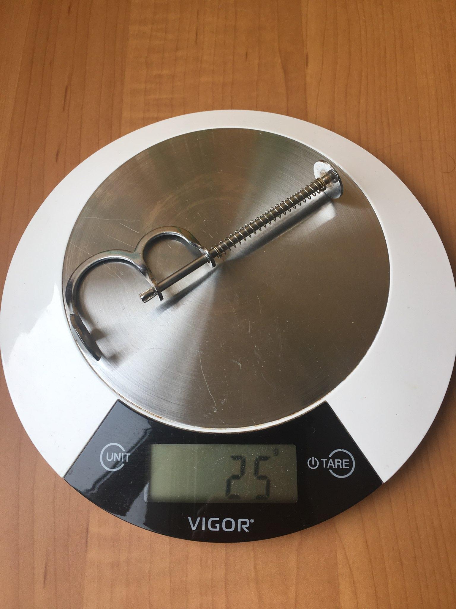 вес отделителя косточек