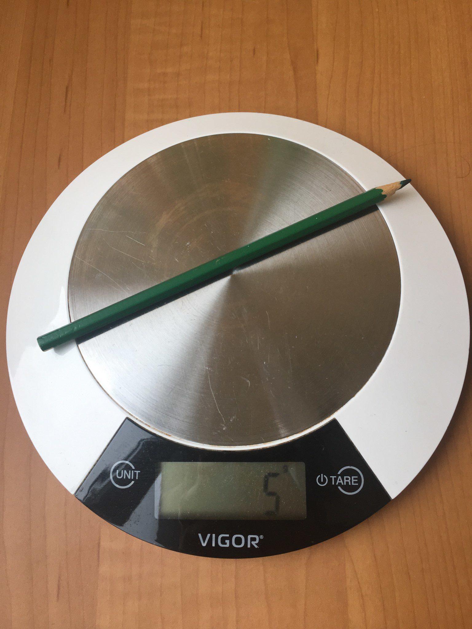 вес карандаша цветного