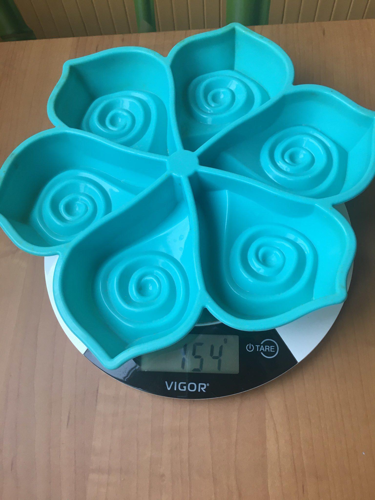 вес силиконовой формы для выпечки