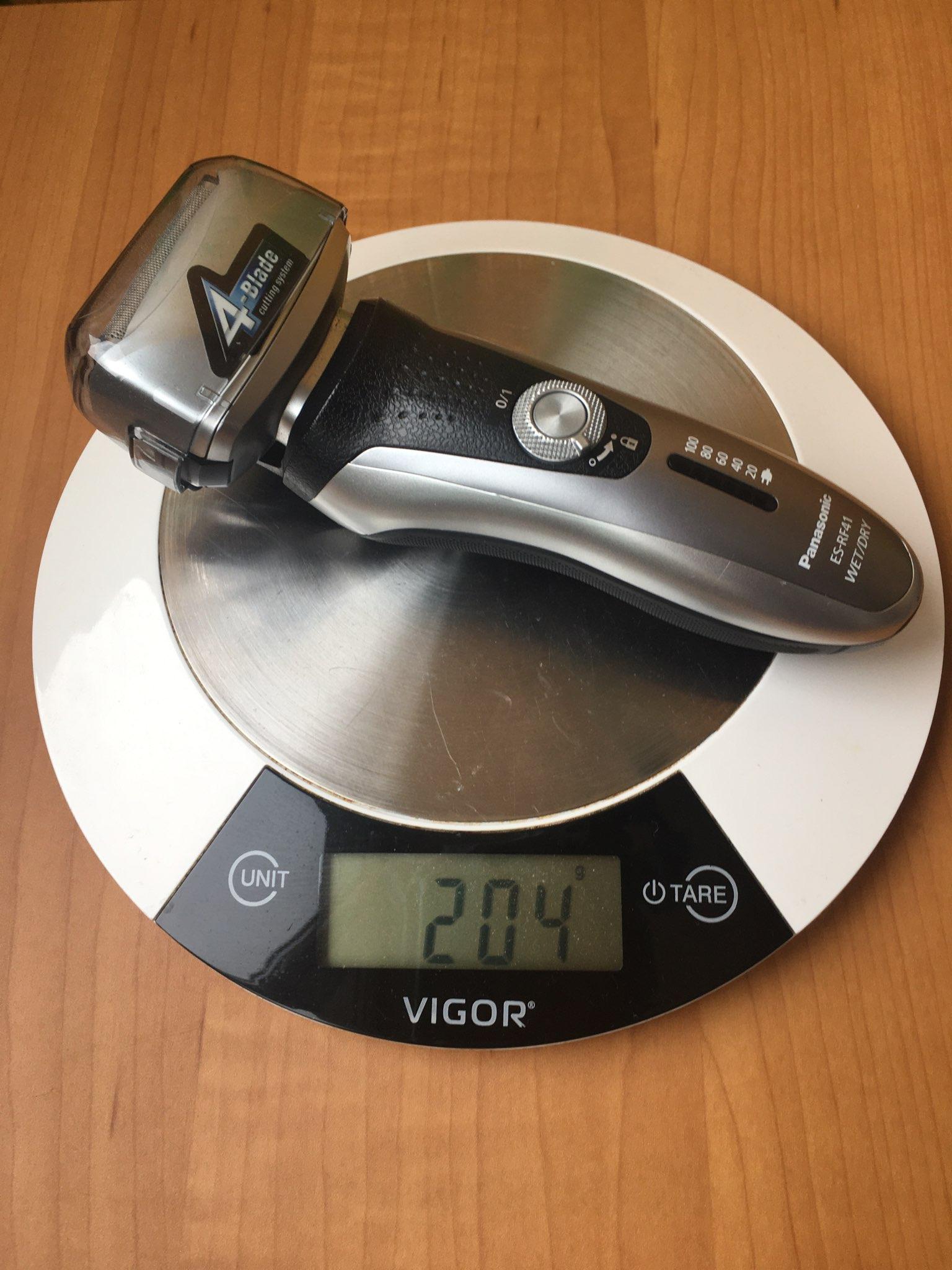 вес бритвы электрической